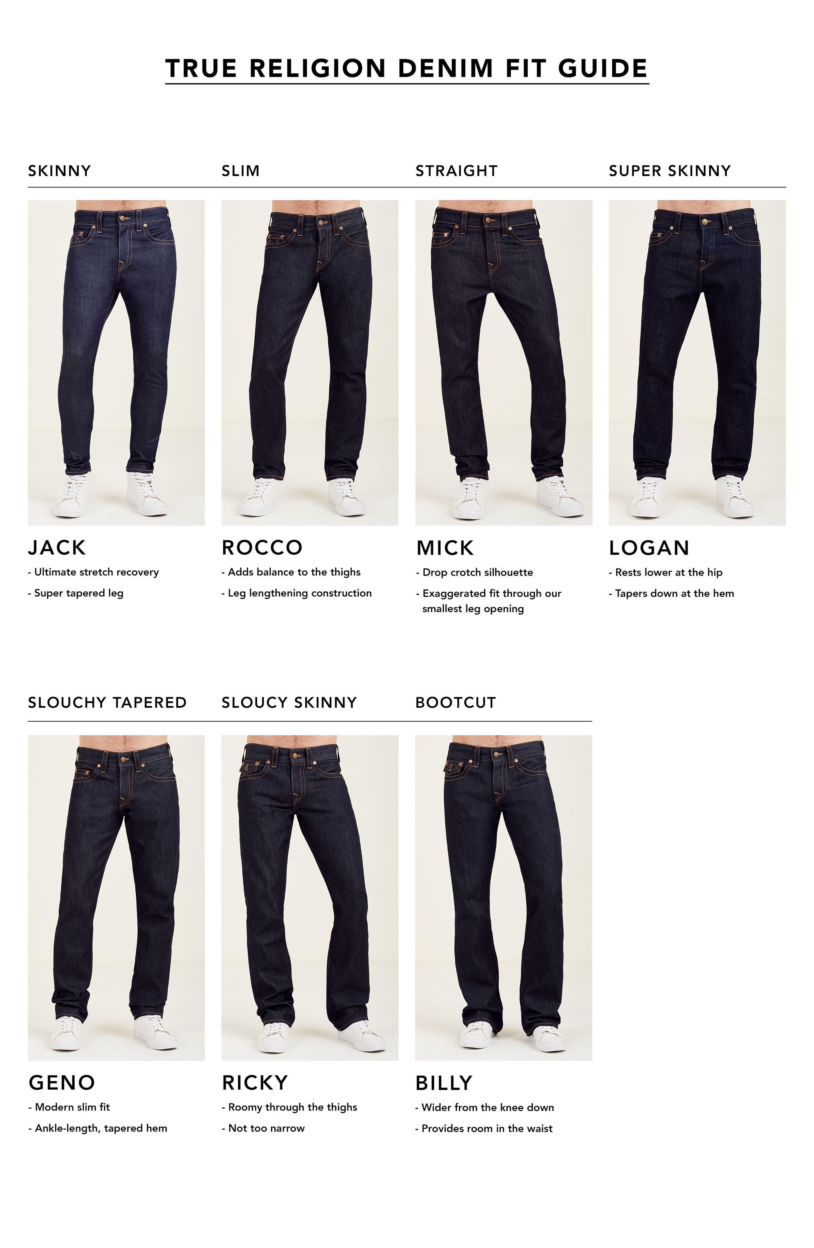 Alternate Image 6  - True Religion Racer Skinny Fit Jeans (Black Sand)