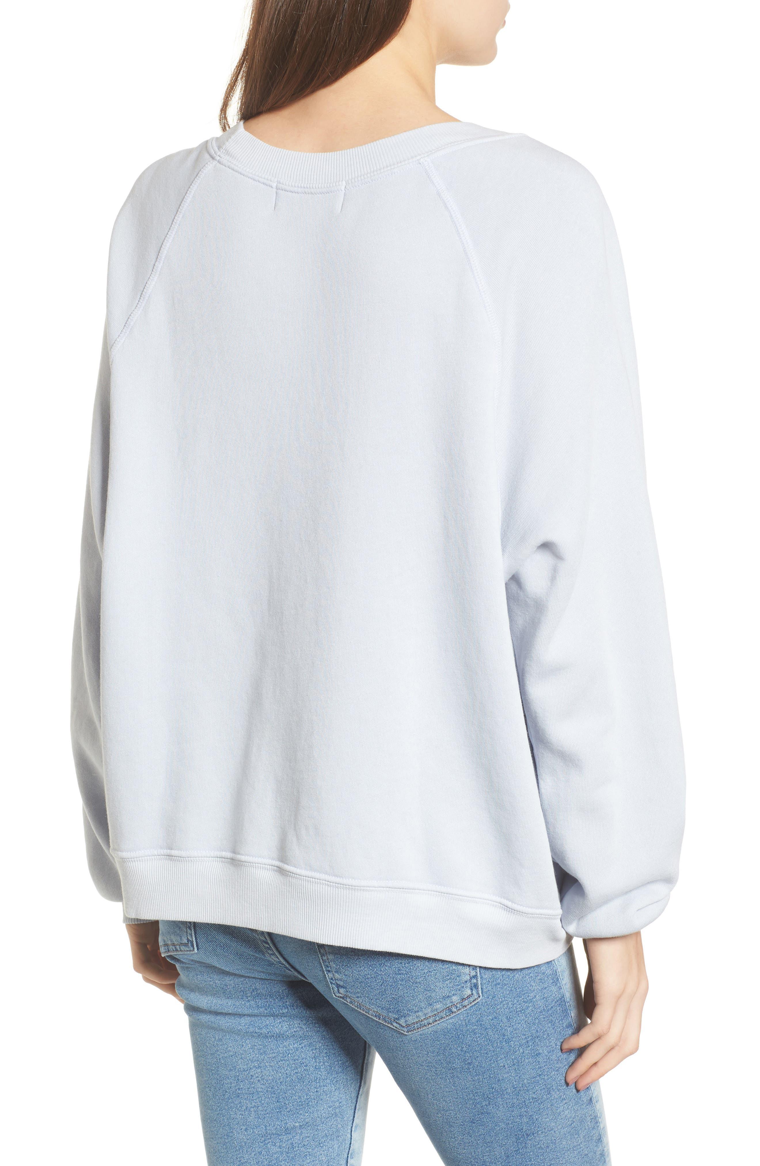 California Sommers Sweatshirt,                             Alternate thumbnail 2, color,                             Blue Ribbon