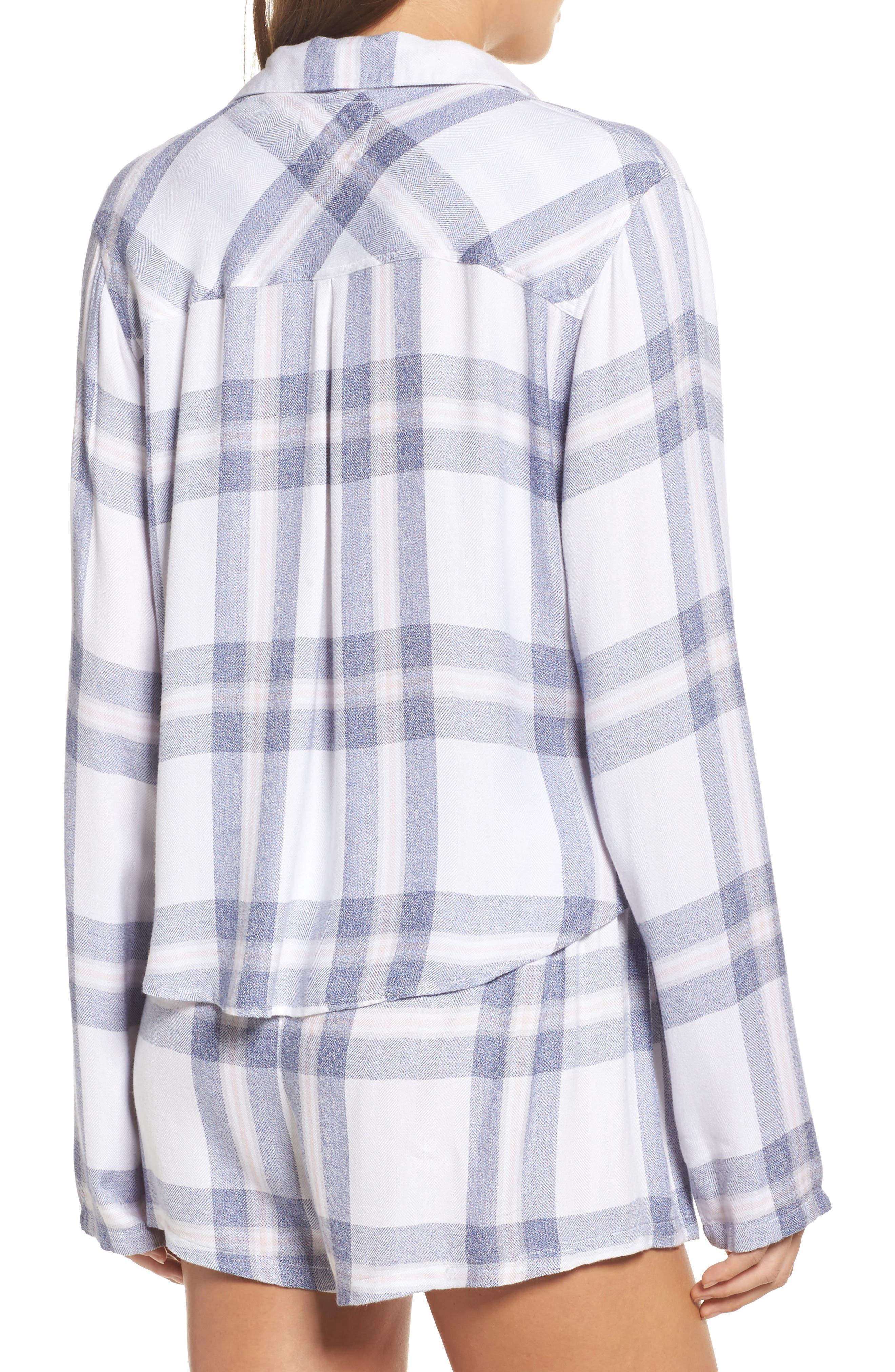 Alternate Image 2  - Rails Plaid Short Pajamas