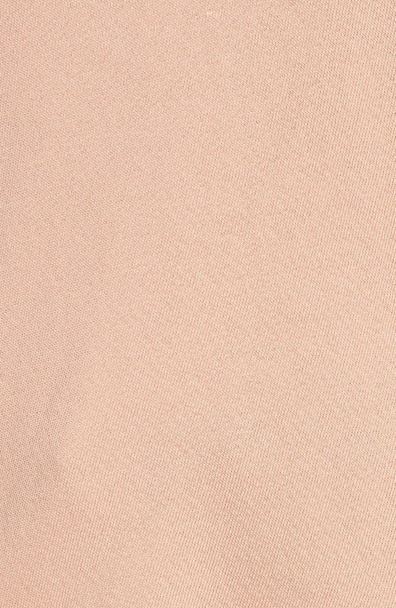 Alternate Image 5  - Current/Elliott The Slouchy Ruffle Sweatshirt