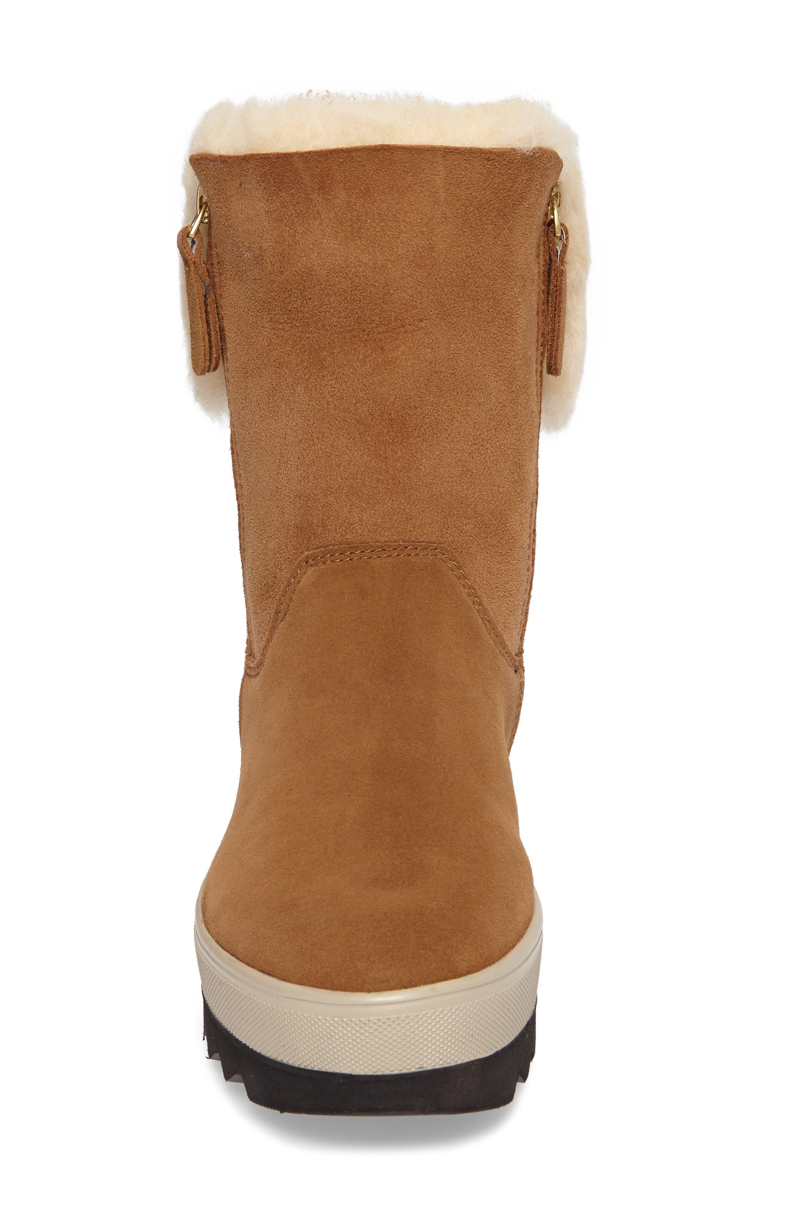 Alternate Image 4  - Cougar Vera Genuine Shearling Boot (Women)