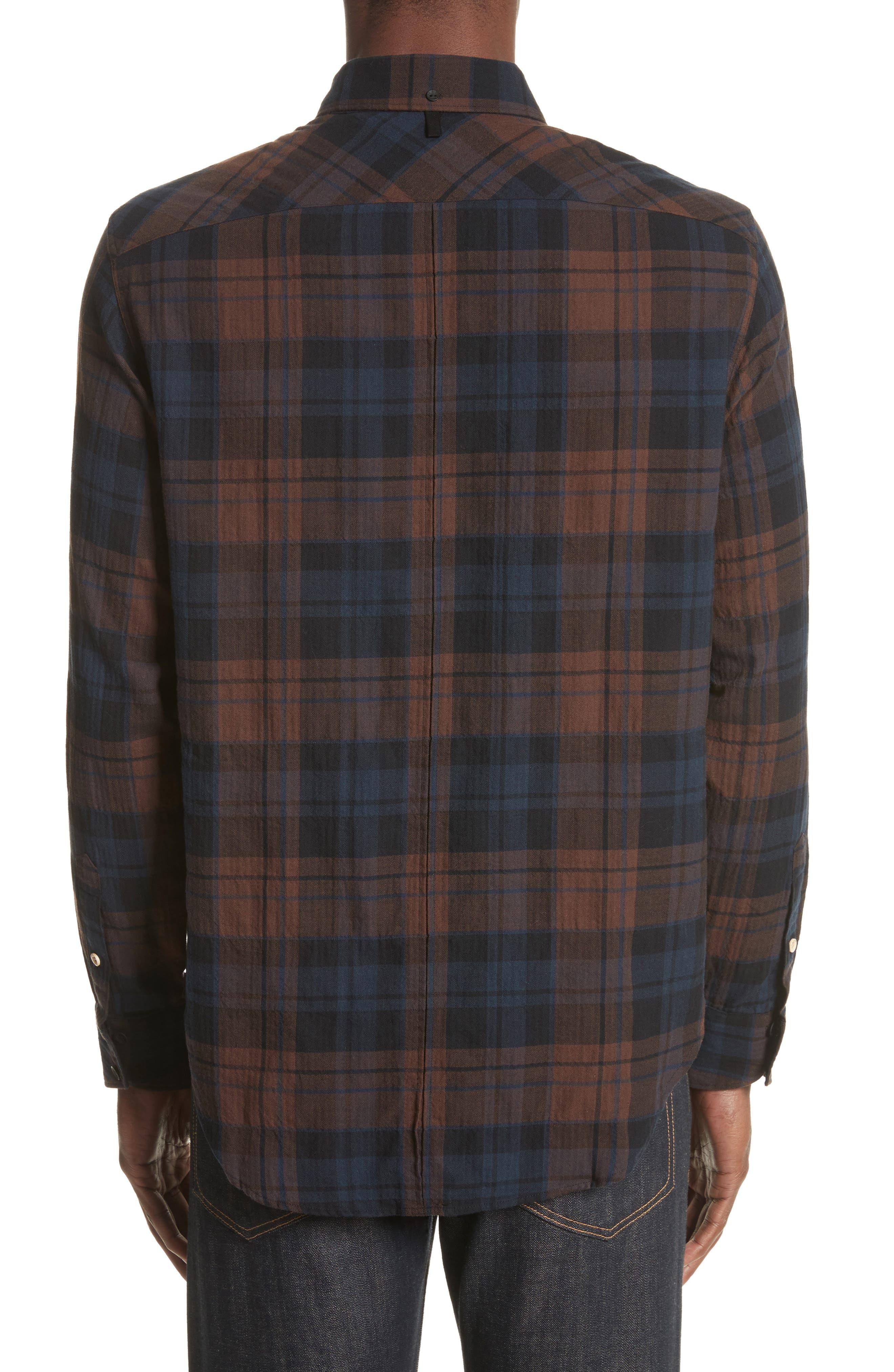 Alternate Image 2  - rag & bone Fit 3 Base Flannel Shirt