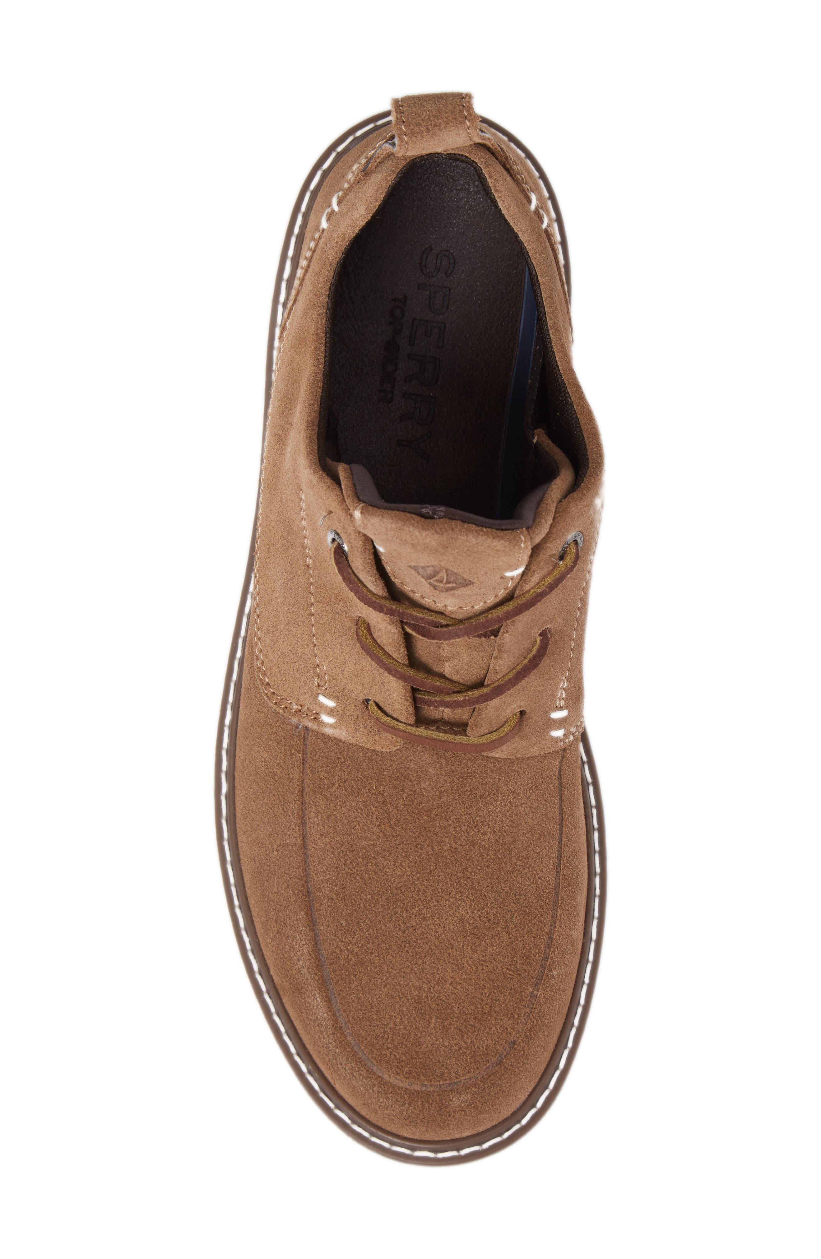Element Chukka Boot,                             Alternate thumbnail 5, color,                             Carmel Leather