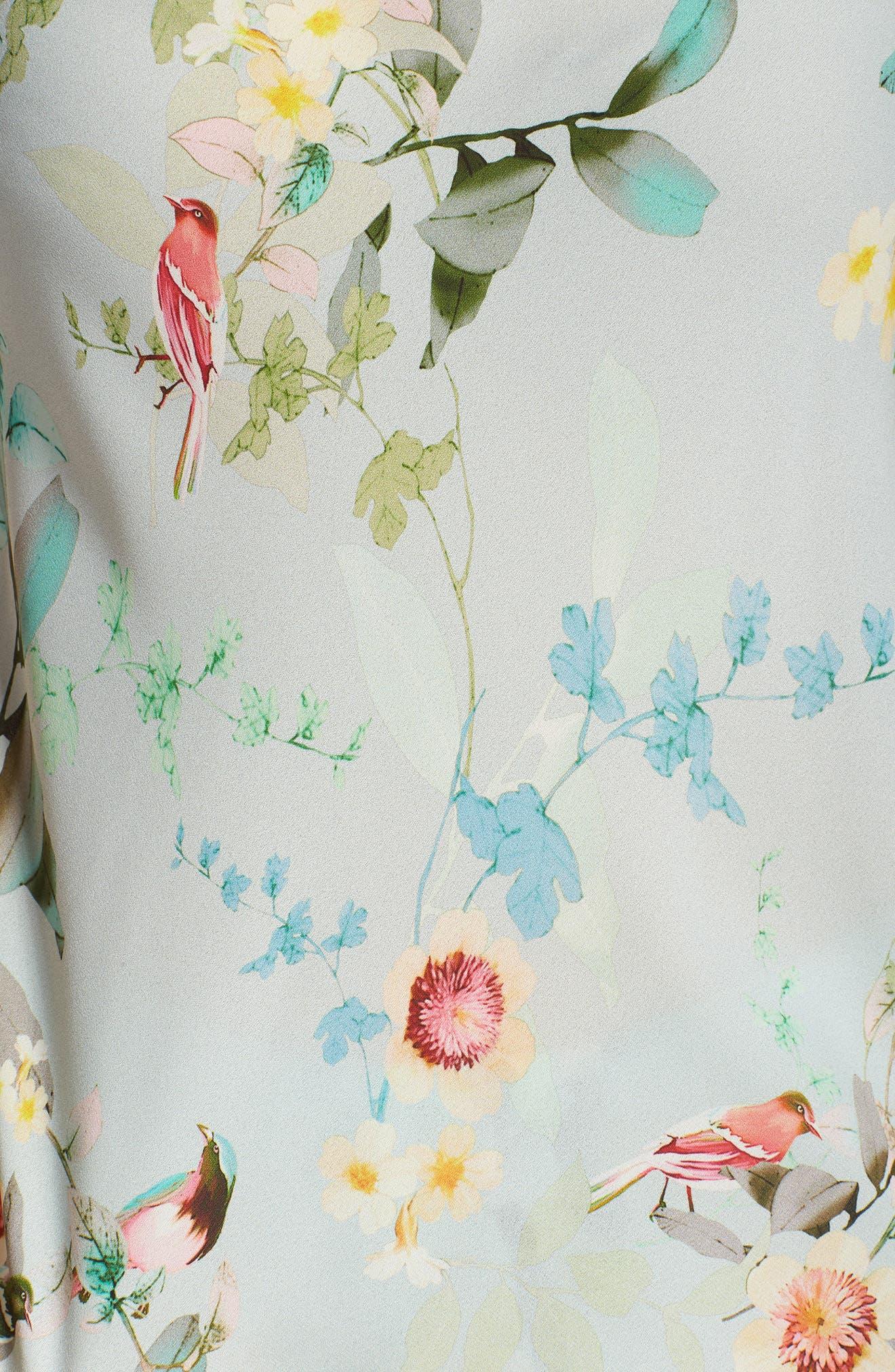 Alison Short Pajamas,                             Alternate thumbnail 6, color,                             Aqua