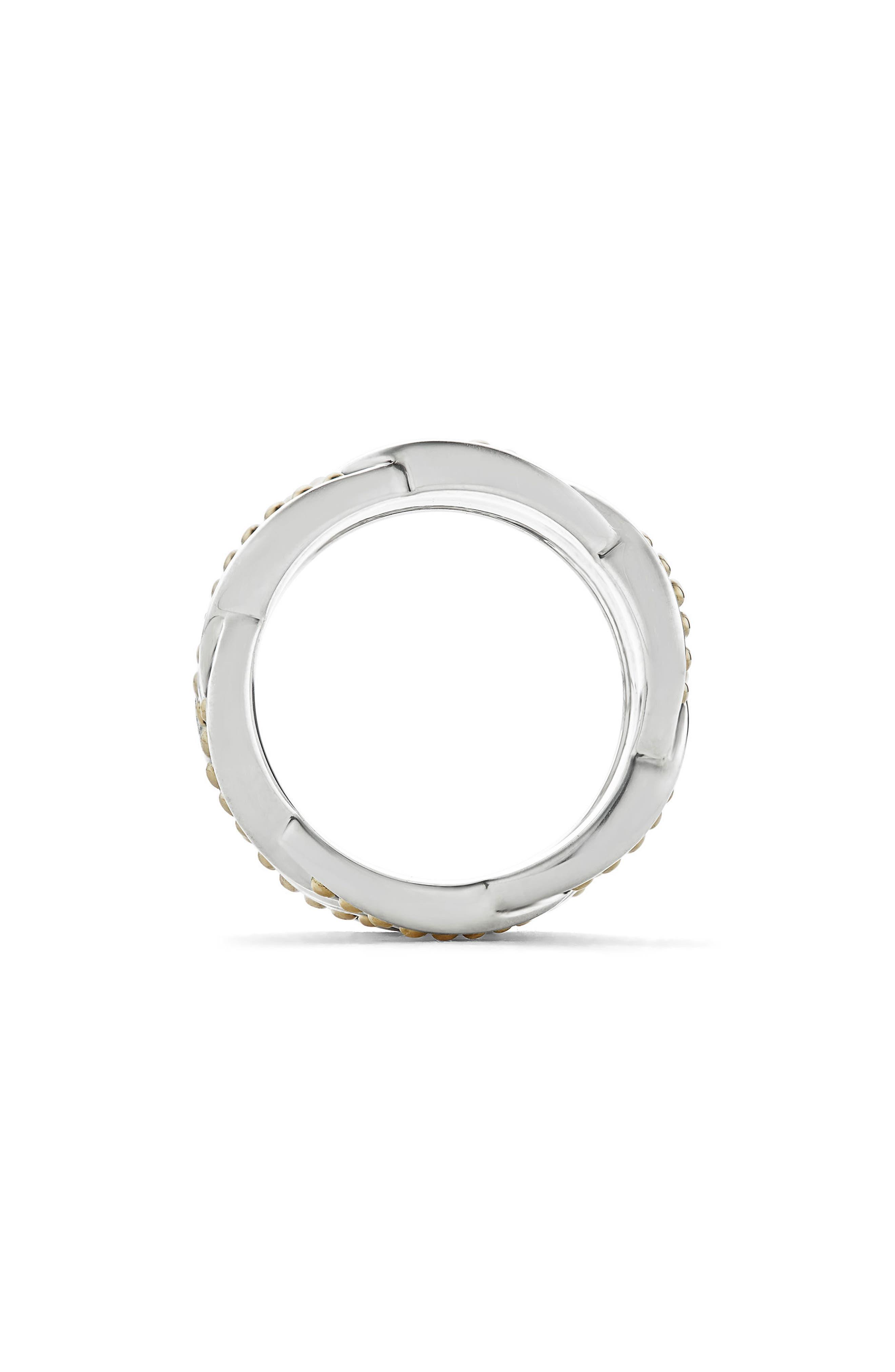 Torsade Knot Ring,                             Alternate thumbnail 4, color,                             Silver/ Gold