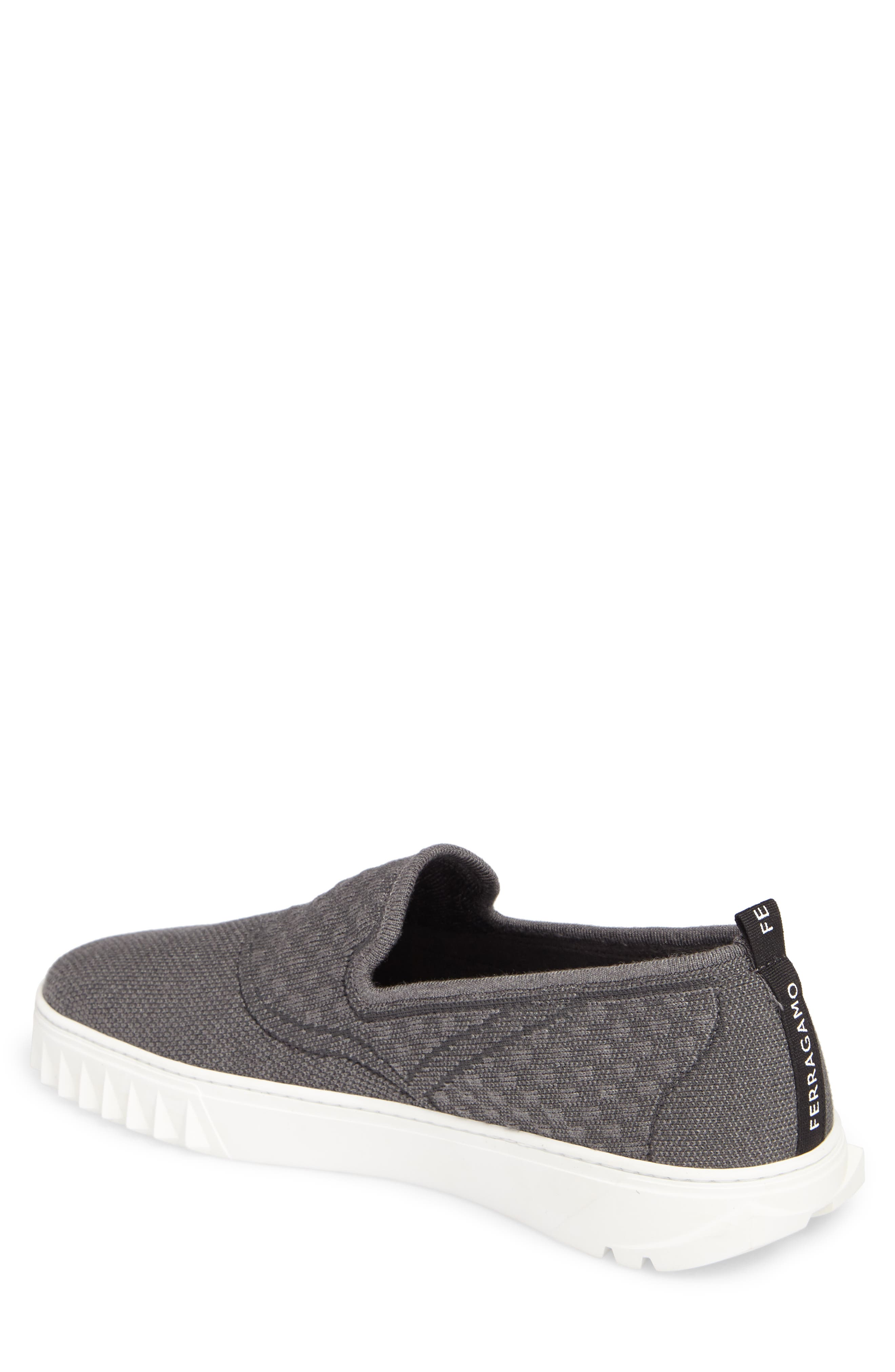 Clay Slip-On Sneaker,                             Alternate thumbnail 2, color,                             Charcoal