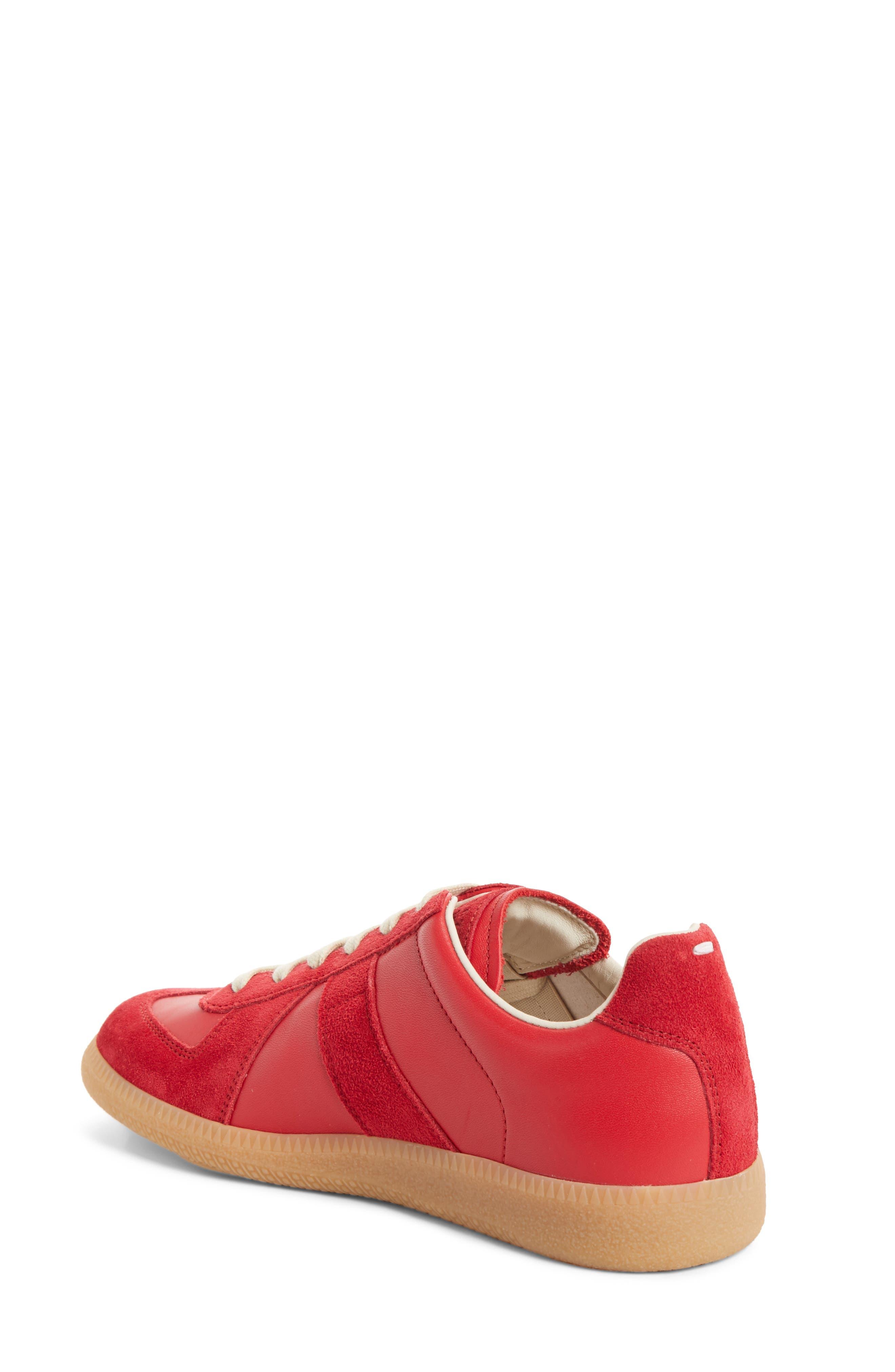 Replica Sneaker,                             Alternate thumbnail 2, color,                             Red/Amber