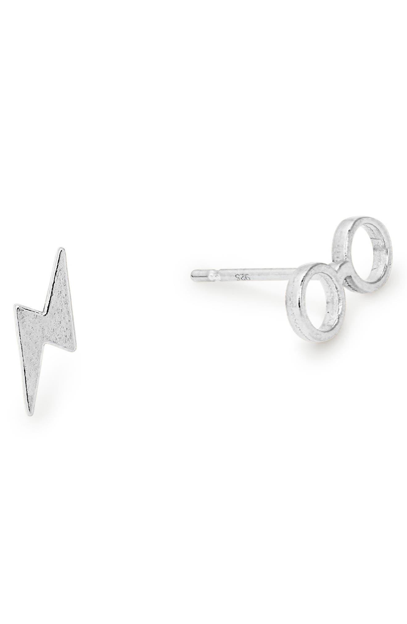 HARRY POTTER(TM) GLASSES & BOLT STUD EARRINGS