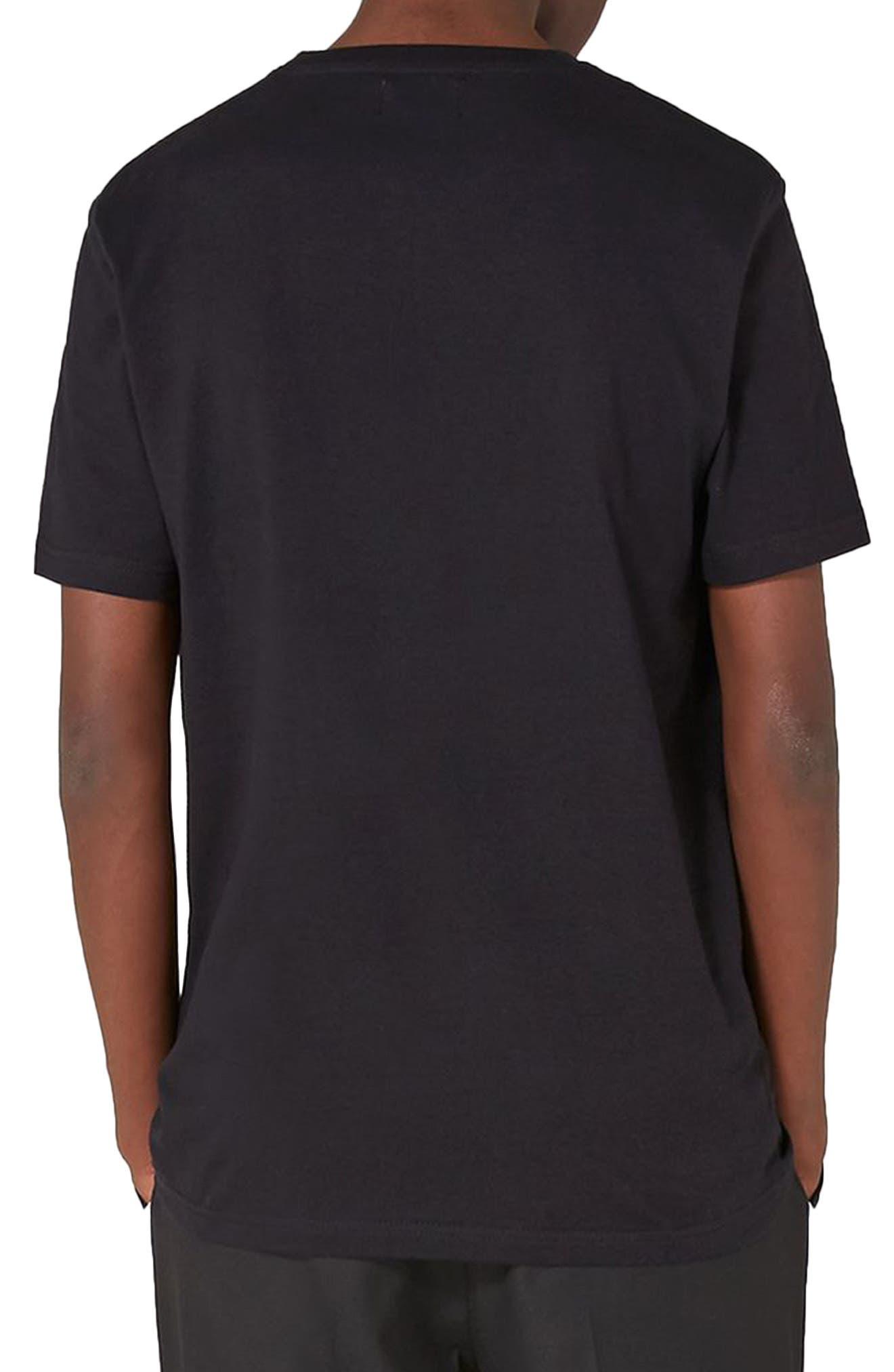 Alternate Image 2  - Topman Palmiers Embroidered T-Shirt