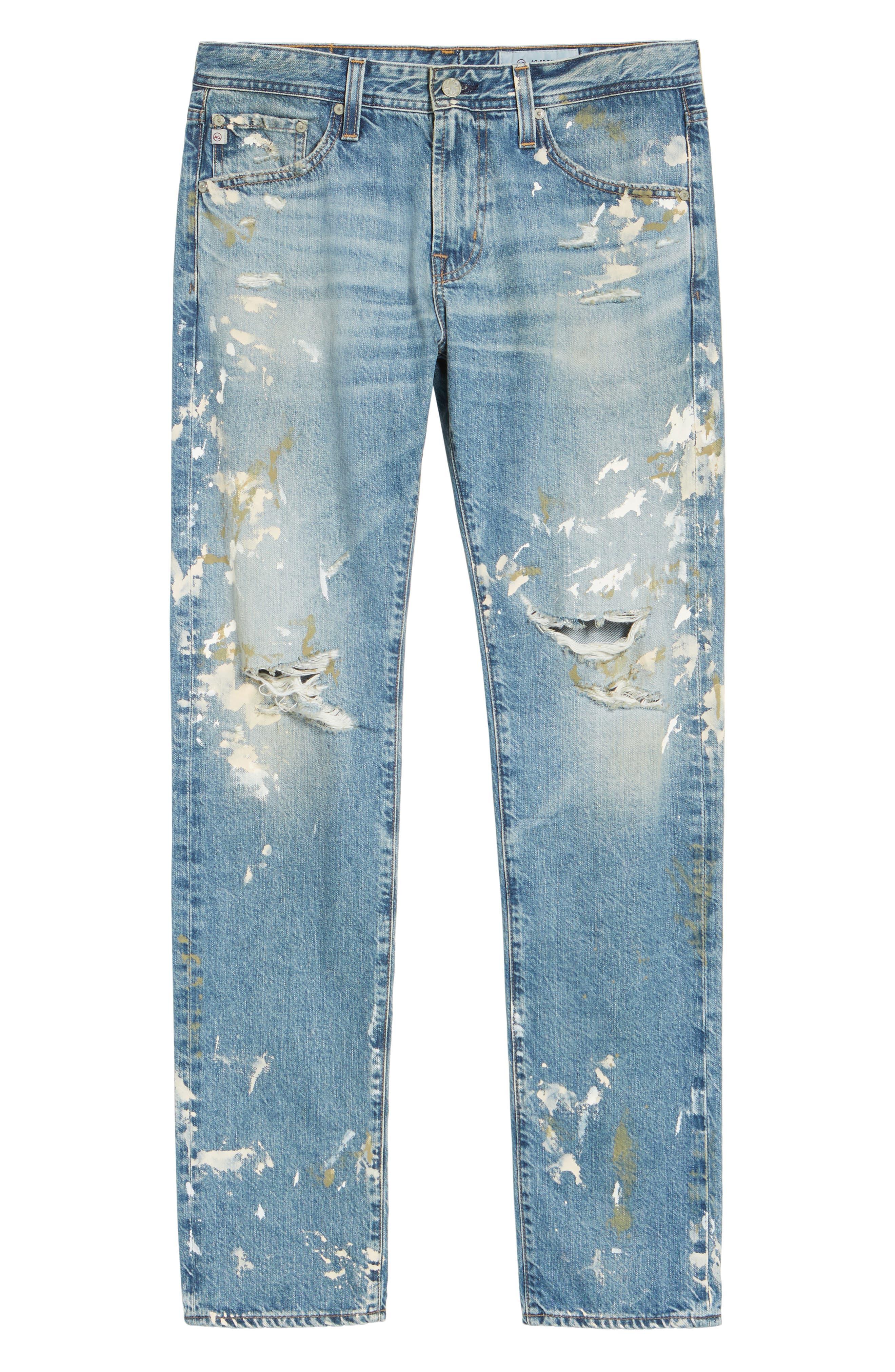 Tellis Modern Slim Fit Jeans,                             Alternate thumbnail 6, color,                             18 Years Carpenter