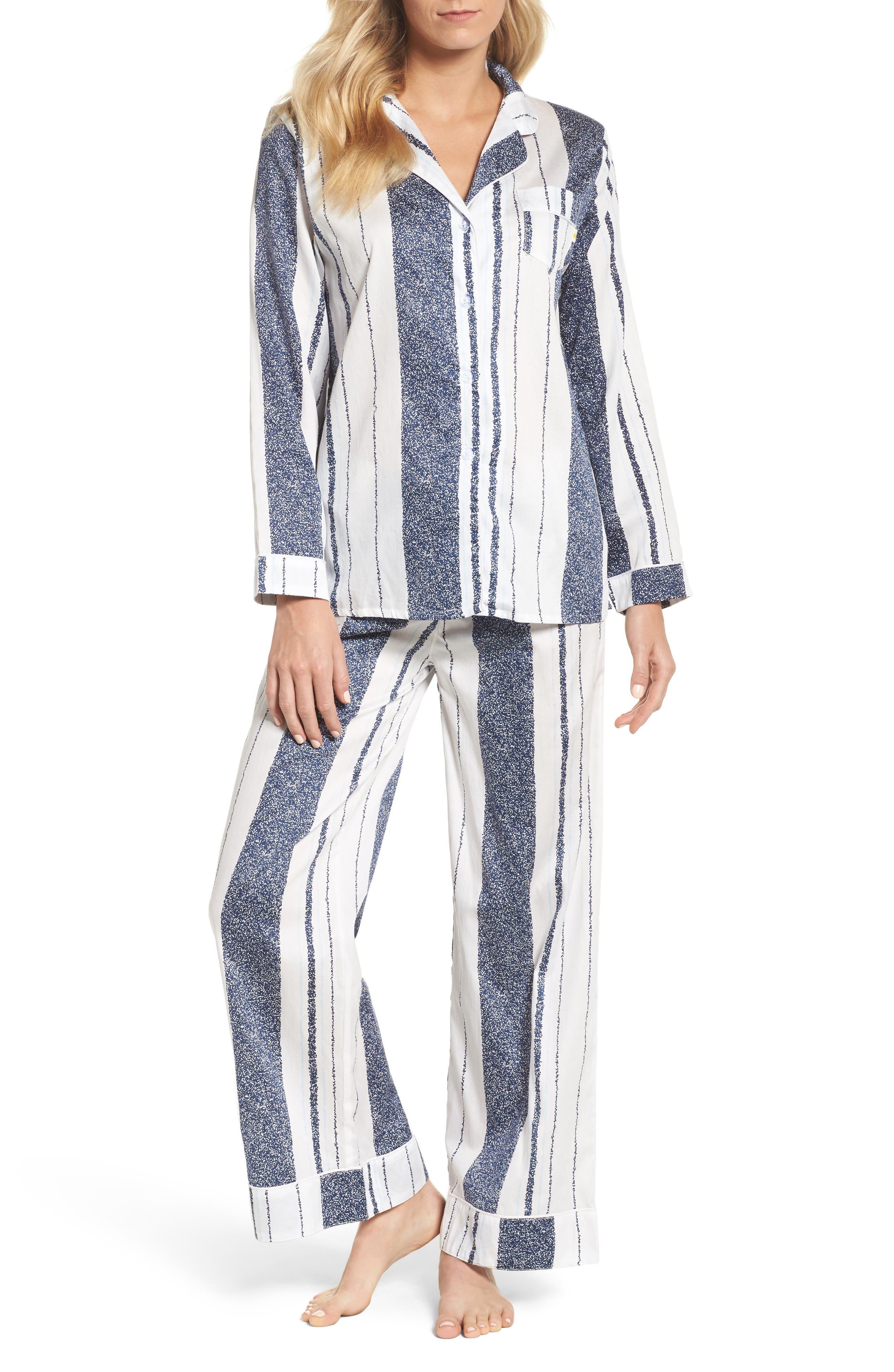 Suzie Pajamas,                         Main,                         color, Cous Stripe Navy