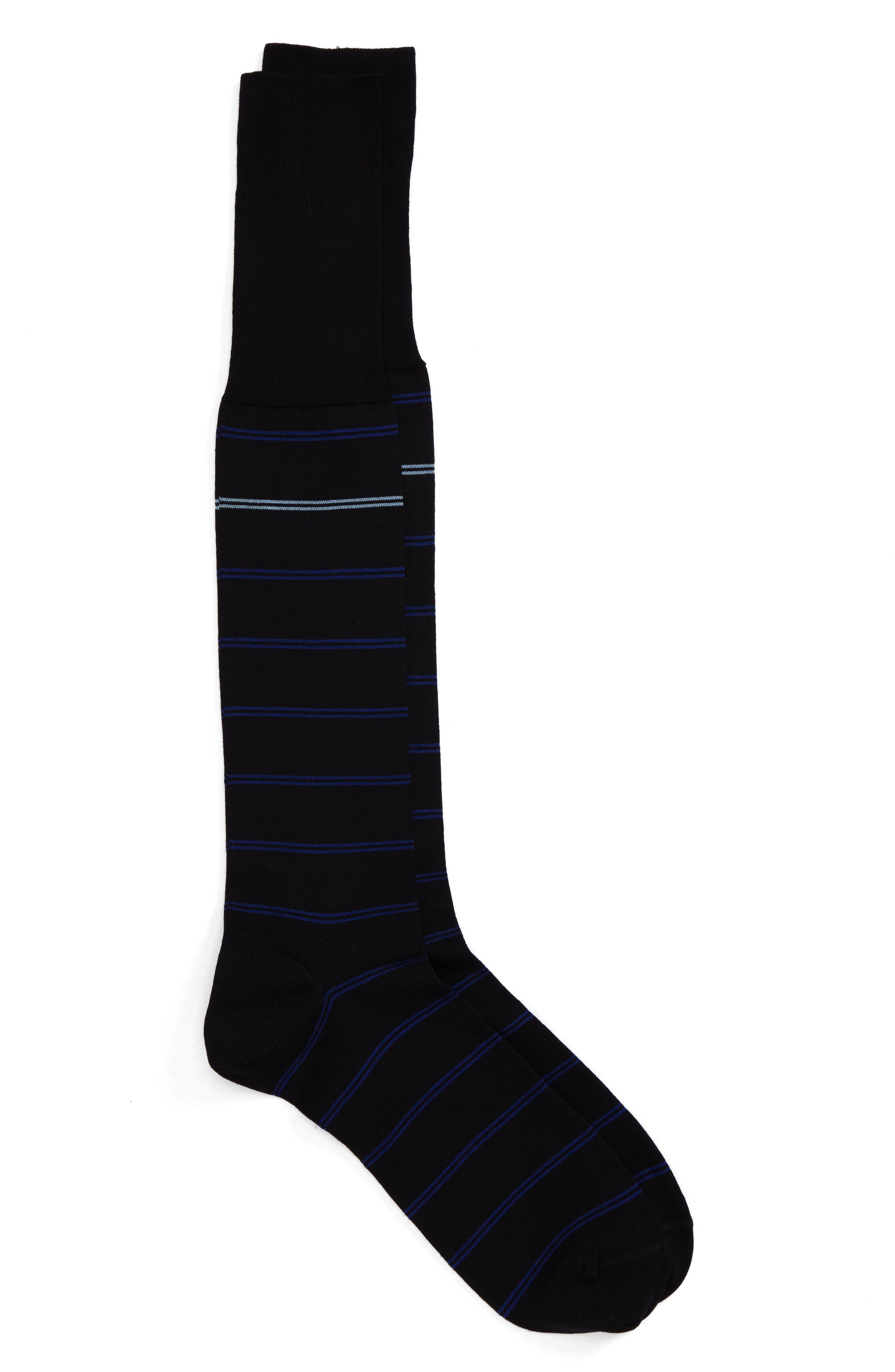 John W. Nordstrom® Parallel Lines Over the Calf Socks (3 for $48)