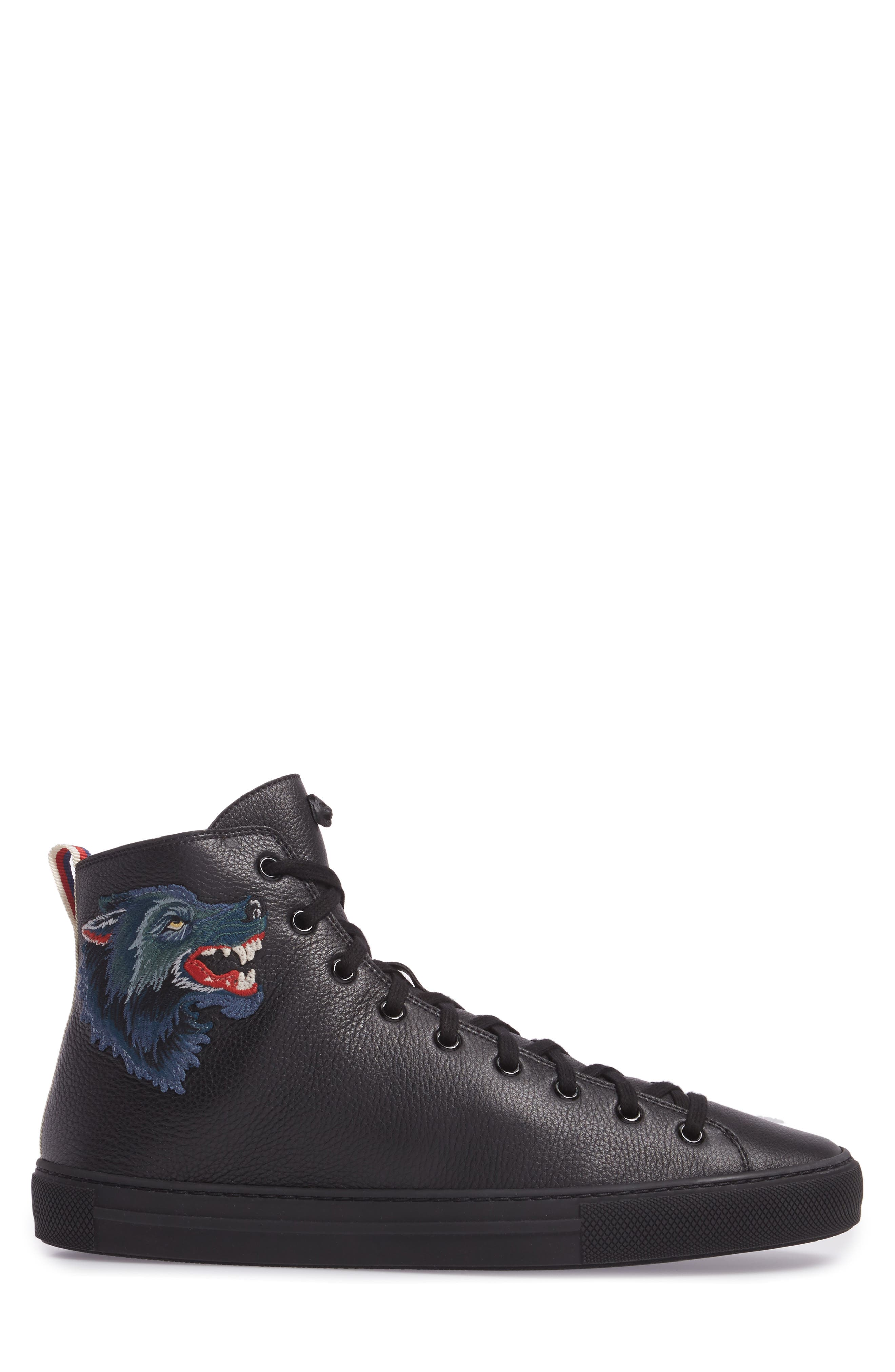 Major Angry Wolf Sneaker,                             Alternate thumbnail 3, color,                             Black