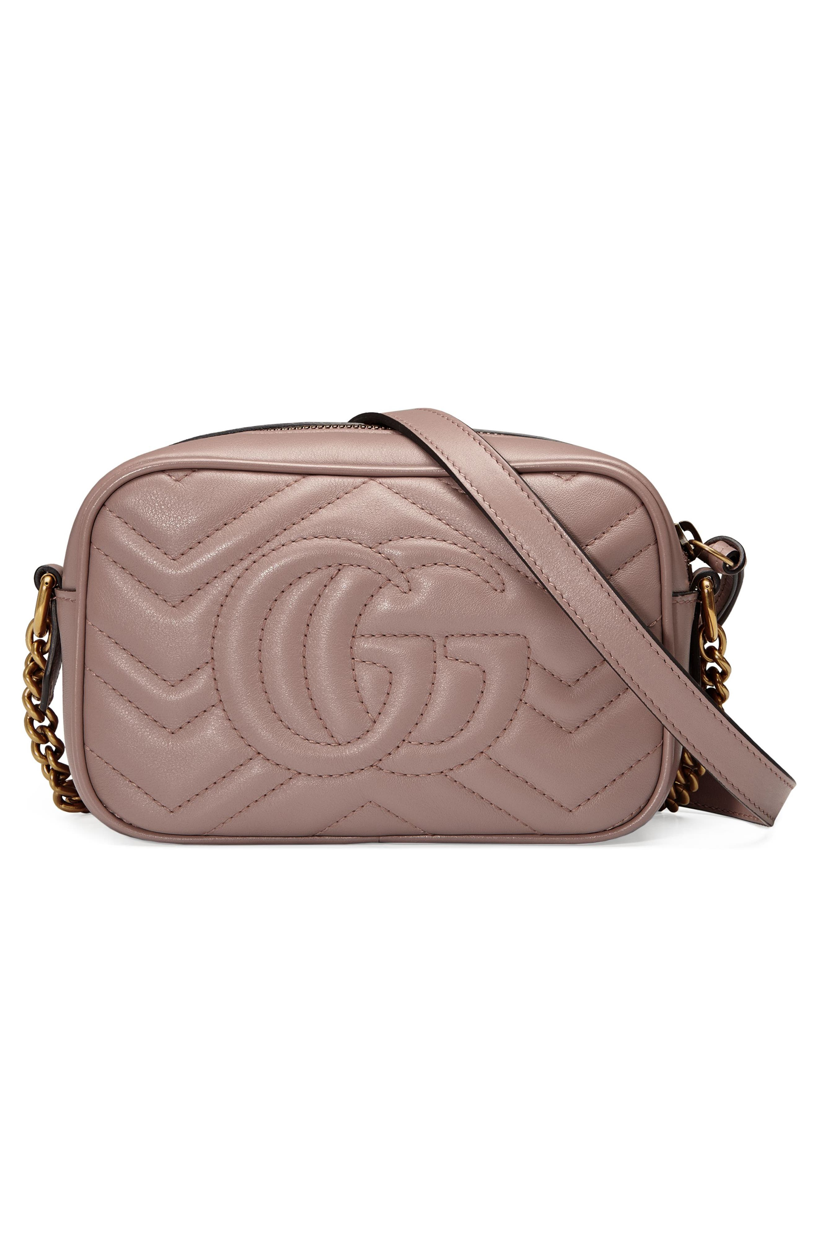 Alternate Image 2  - Gucci GG Marmont 2.0 Matelassé Leather Shoulder Bag
