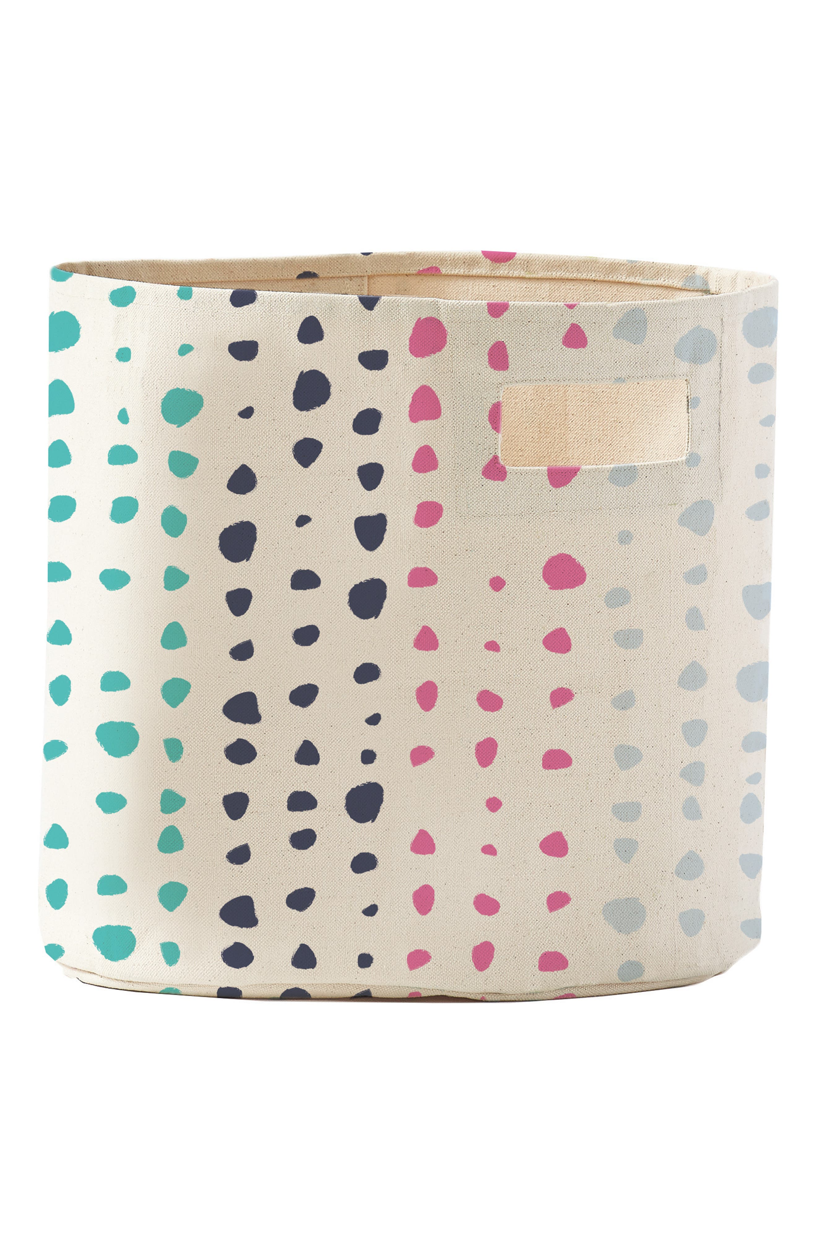 Painted Dots Changing Pad Cover, Swaddle & Bin Set,                             Alternate thumbnail 2, color,                             Multi