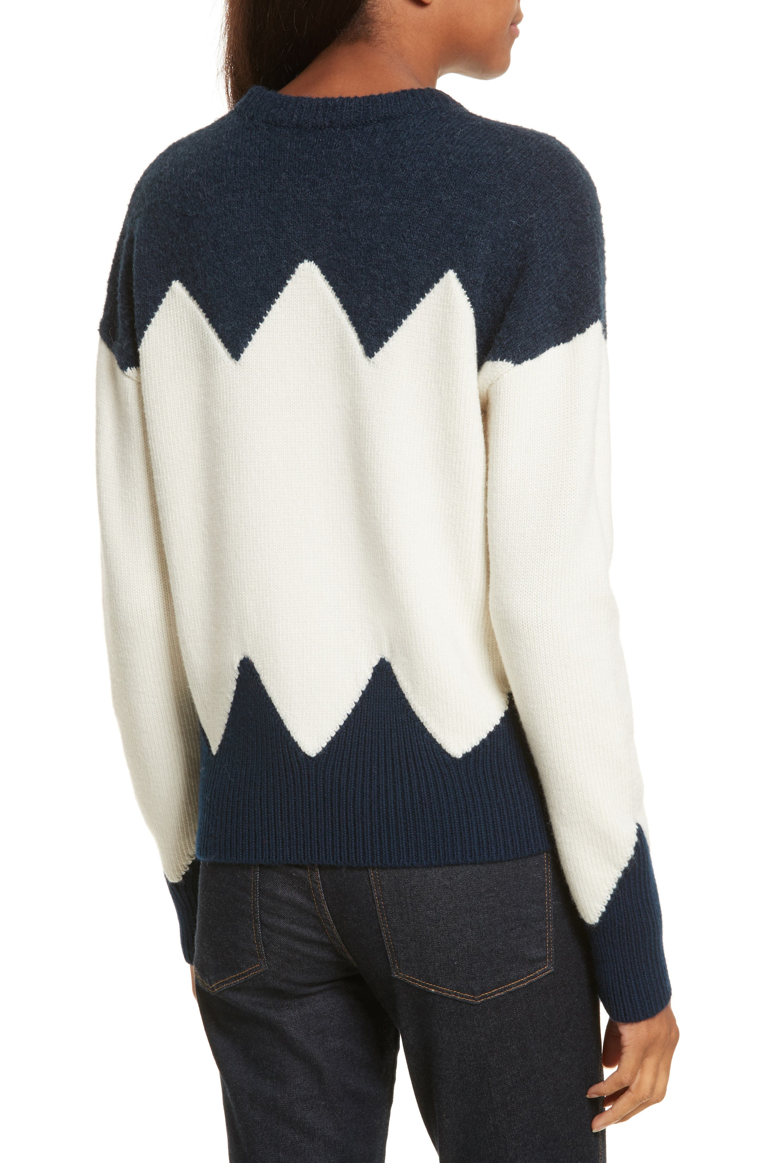 Alternate Image 2  - Tory Burch Hannah Wool Blend Sweater
