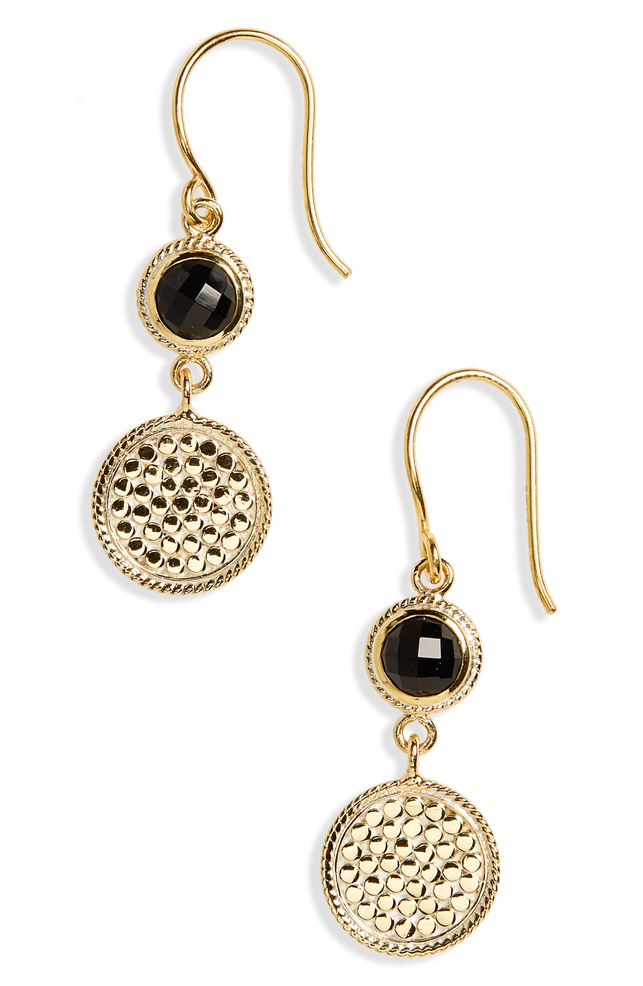 Alternate Image 1 Selected - Anna Beck Semiprecious Stone Double Drop Earrings