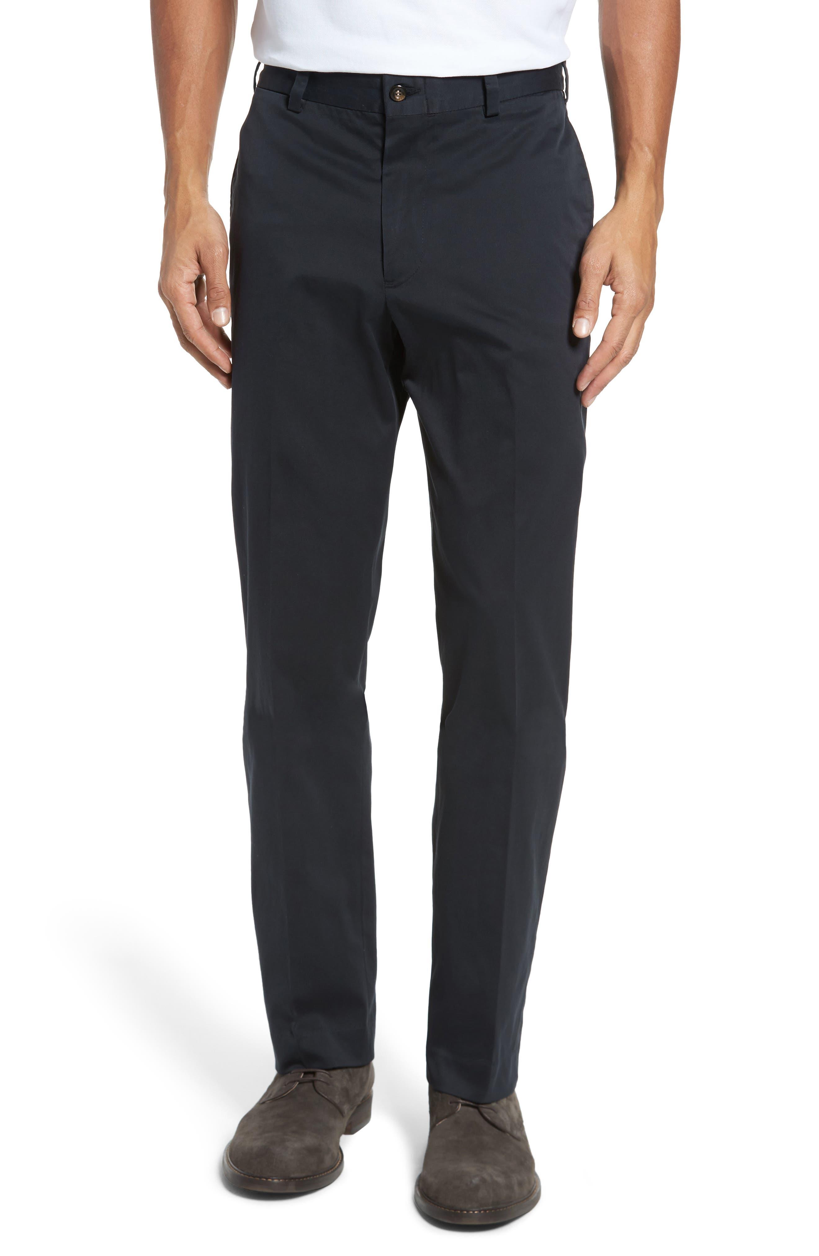 Classic Fit Chamois Cloth Pants,                         Main,                         color, Black