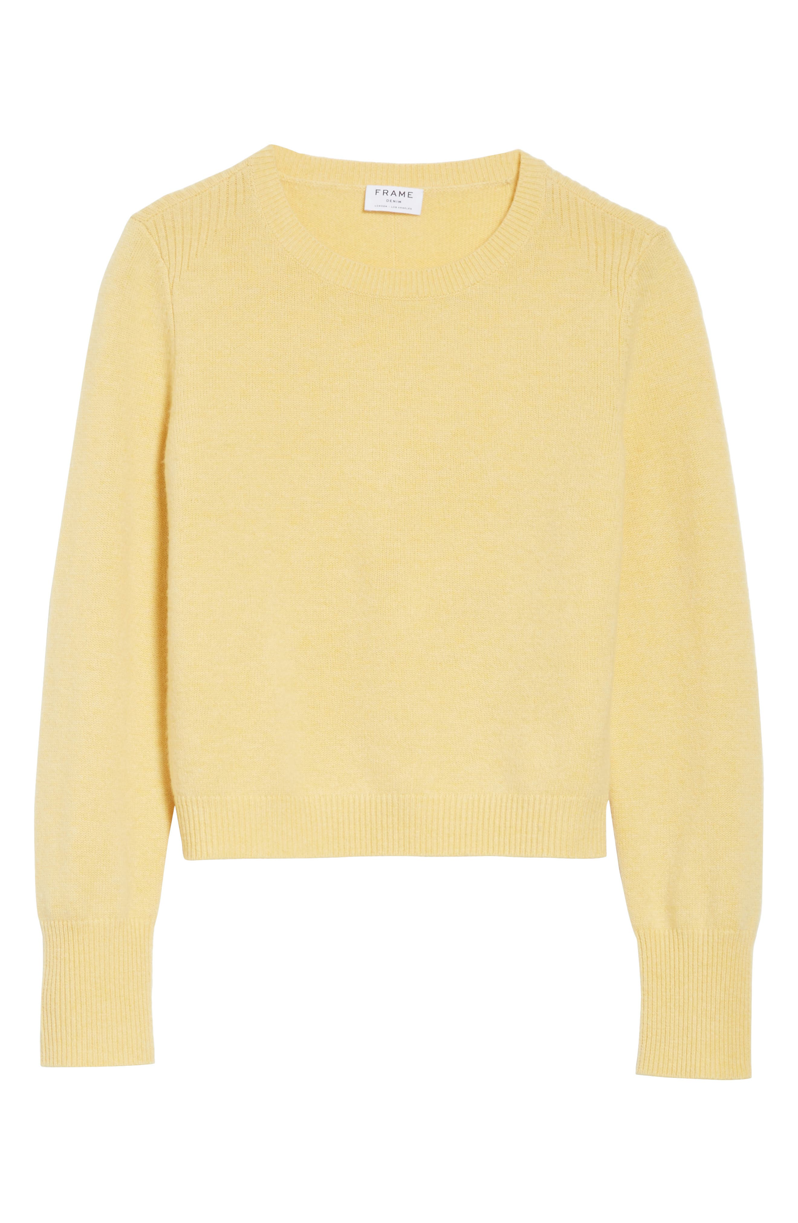 Alternate Image 6  - FRAME Wool & Cashmere Sweater