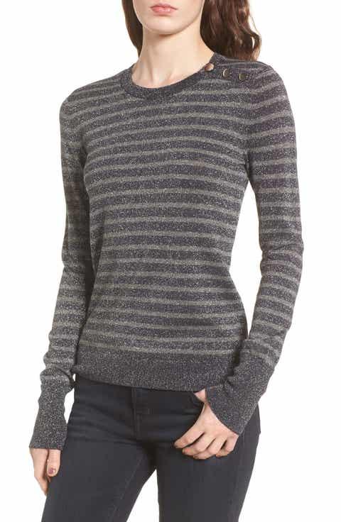 Hinge Sparkle Stripe Sweater