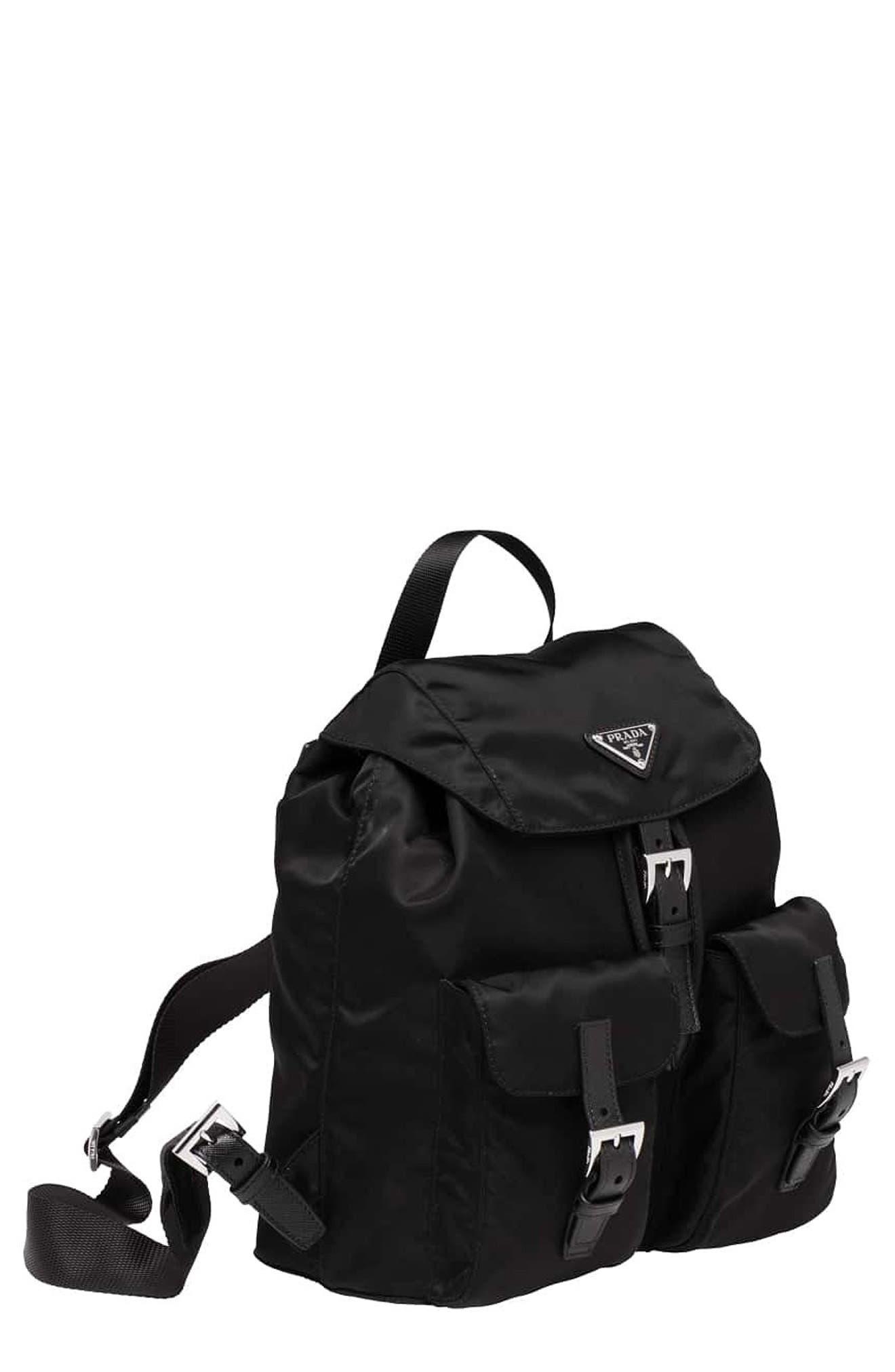Prada Small Vela Nylon Backpack