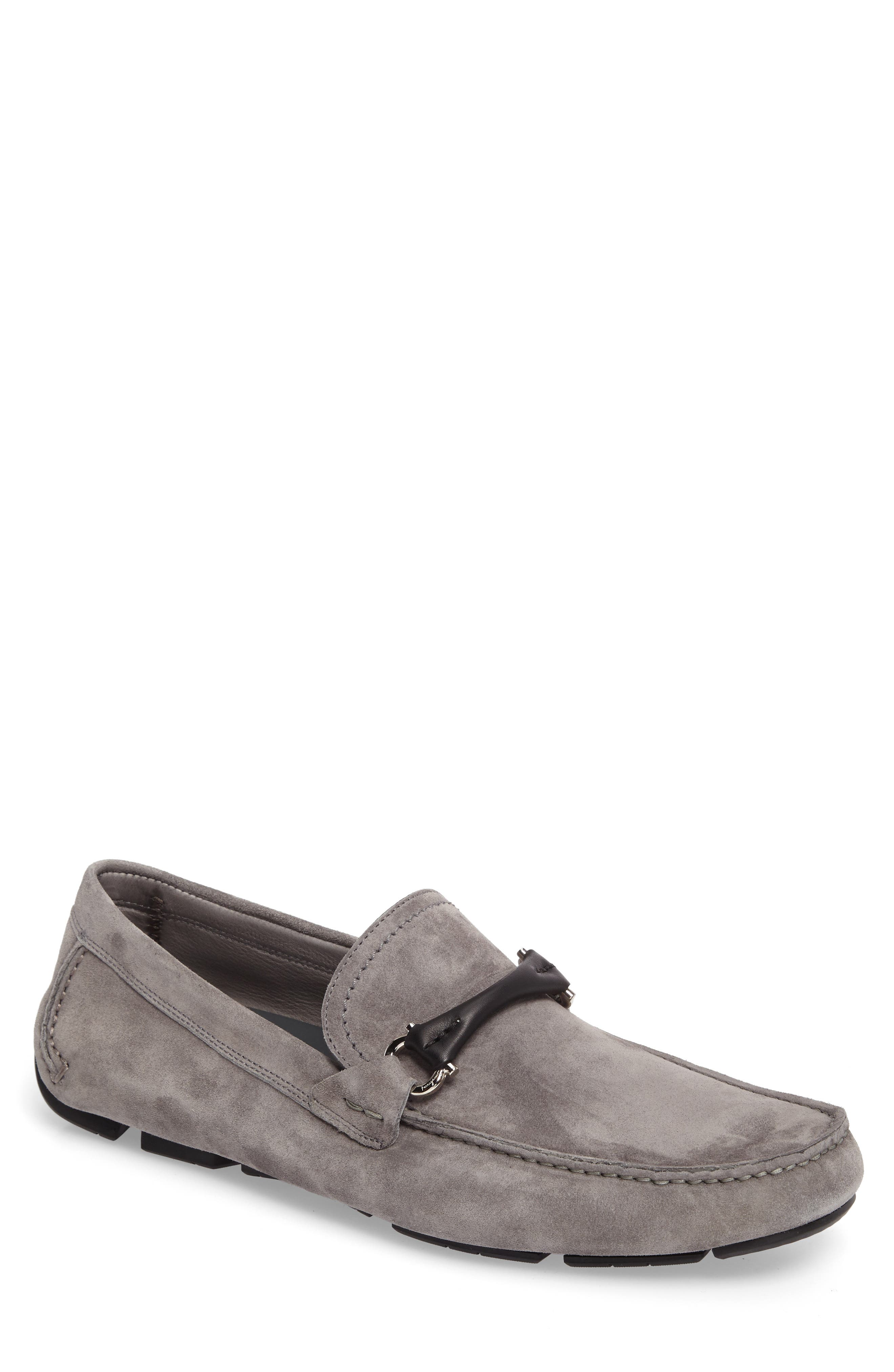 Alternate Image 1 Selected - Salvatore Ferragamo GranprixDriving Shoe (Men)