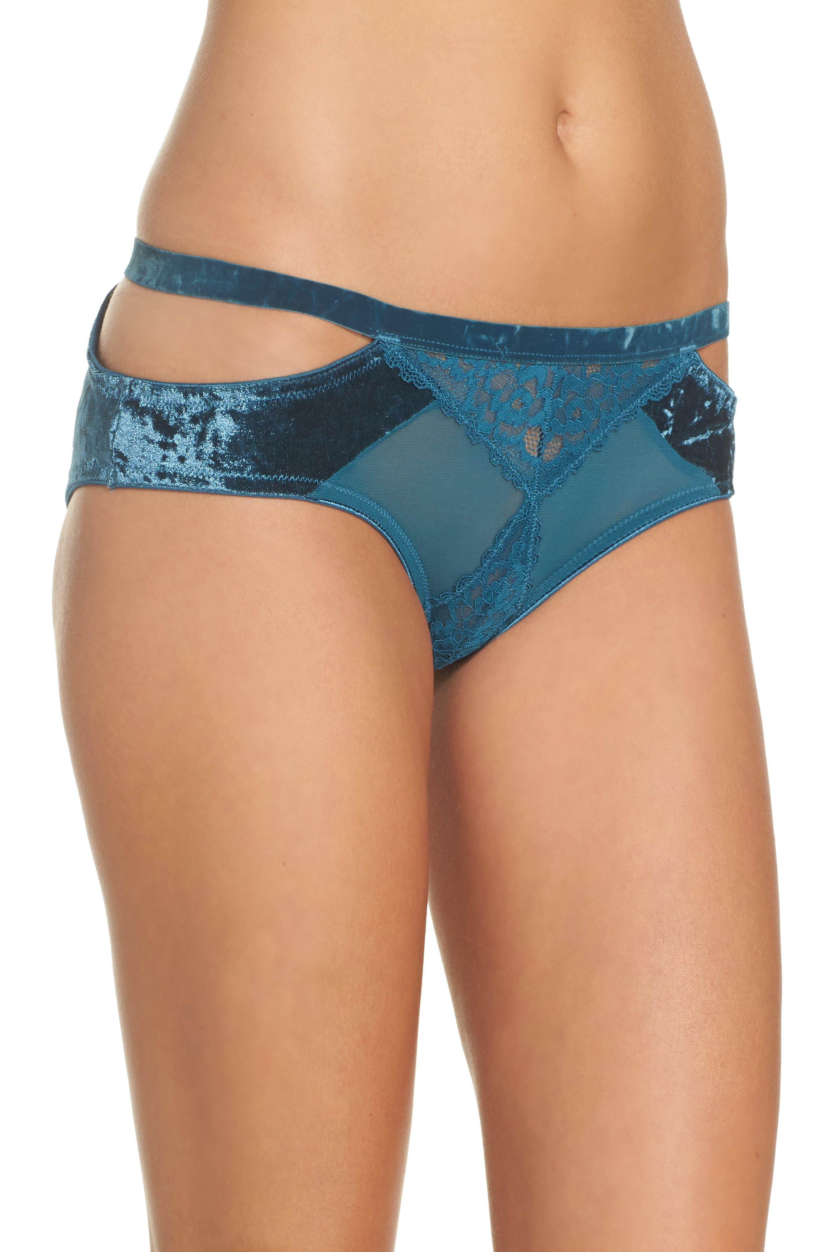 Alternate Image 3  - Honeydew Intimates Cutout Bikini