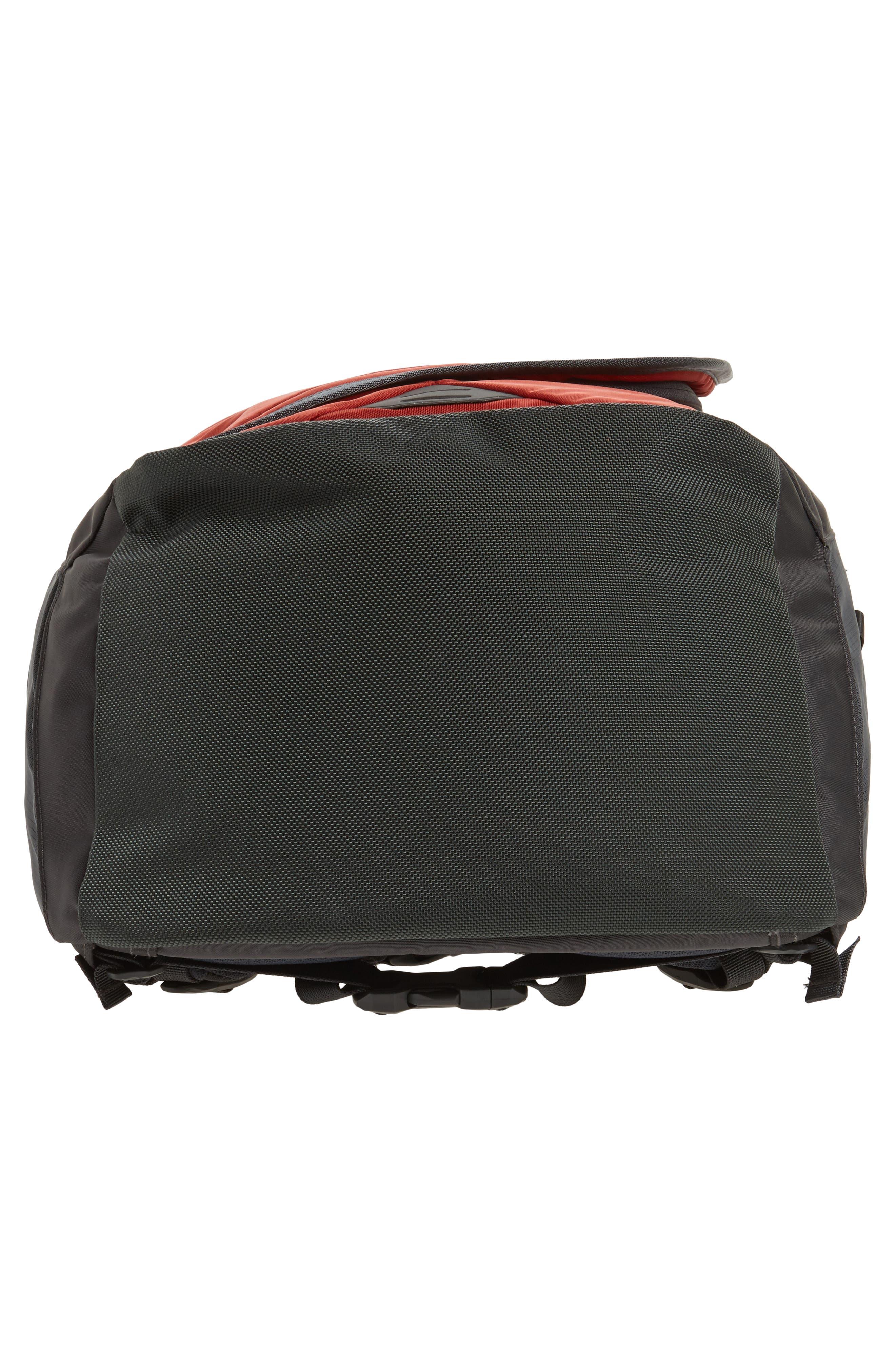 Hot Shot Backpack,                             Alternate thumbnail 6, color,                             Ketchup Red/ Asphalt Grey