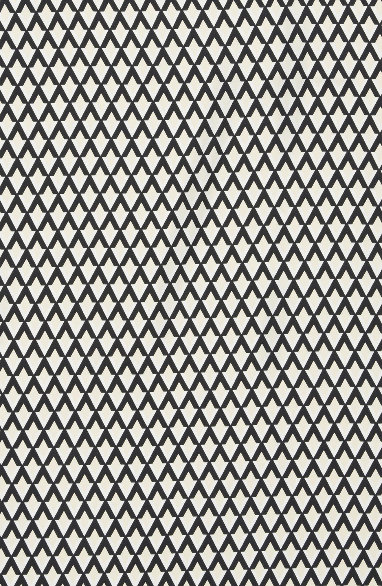 Alternate Image 3  - Vince Camuto Logo Chevron Scarf