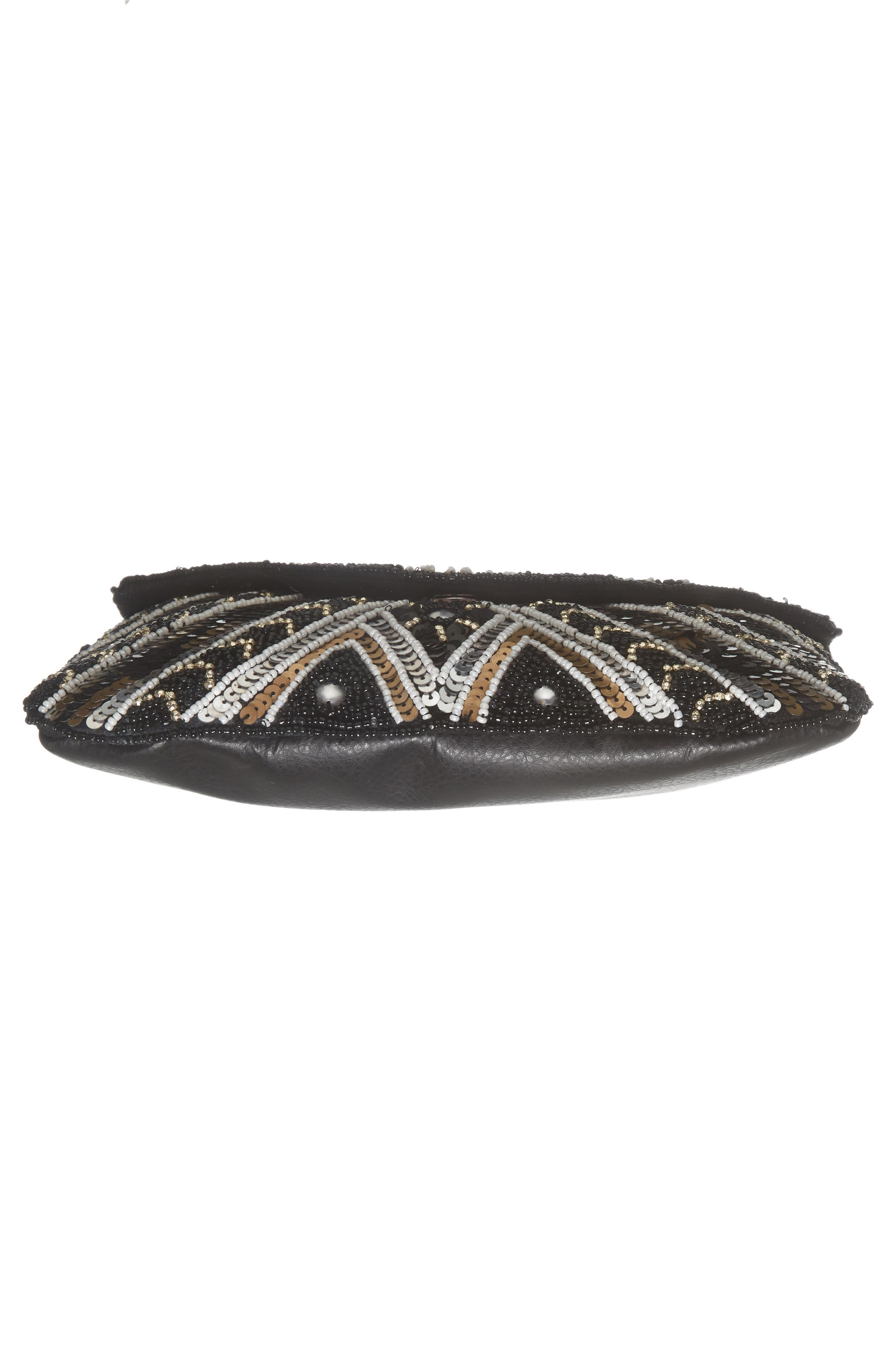 Alternate Image 5  - Sole Society Beaded Clutch