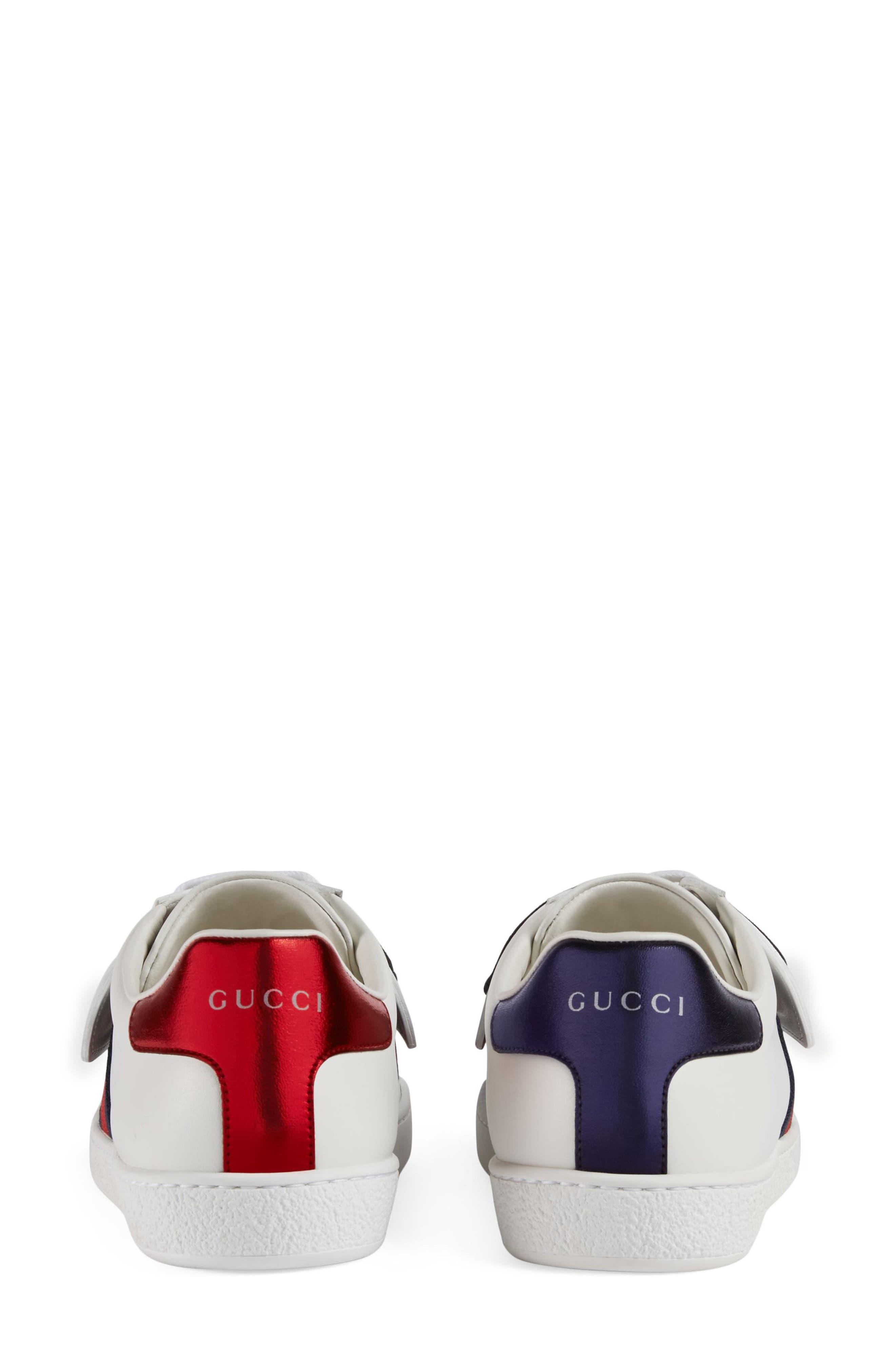 New Ace Loved Sneaker,                             Alternate thumbnail 4, color,                             White