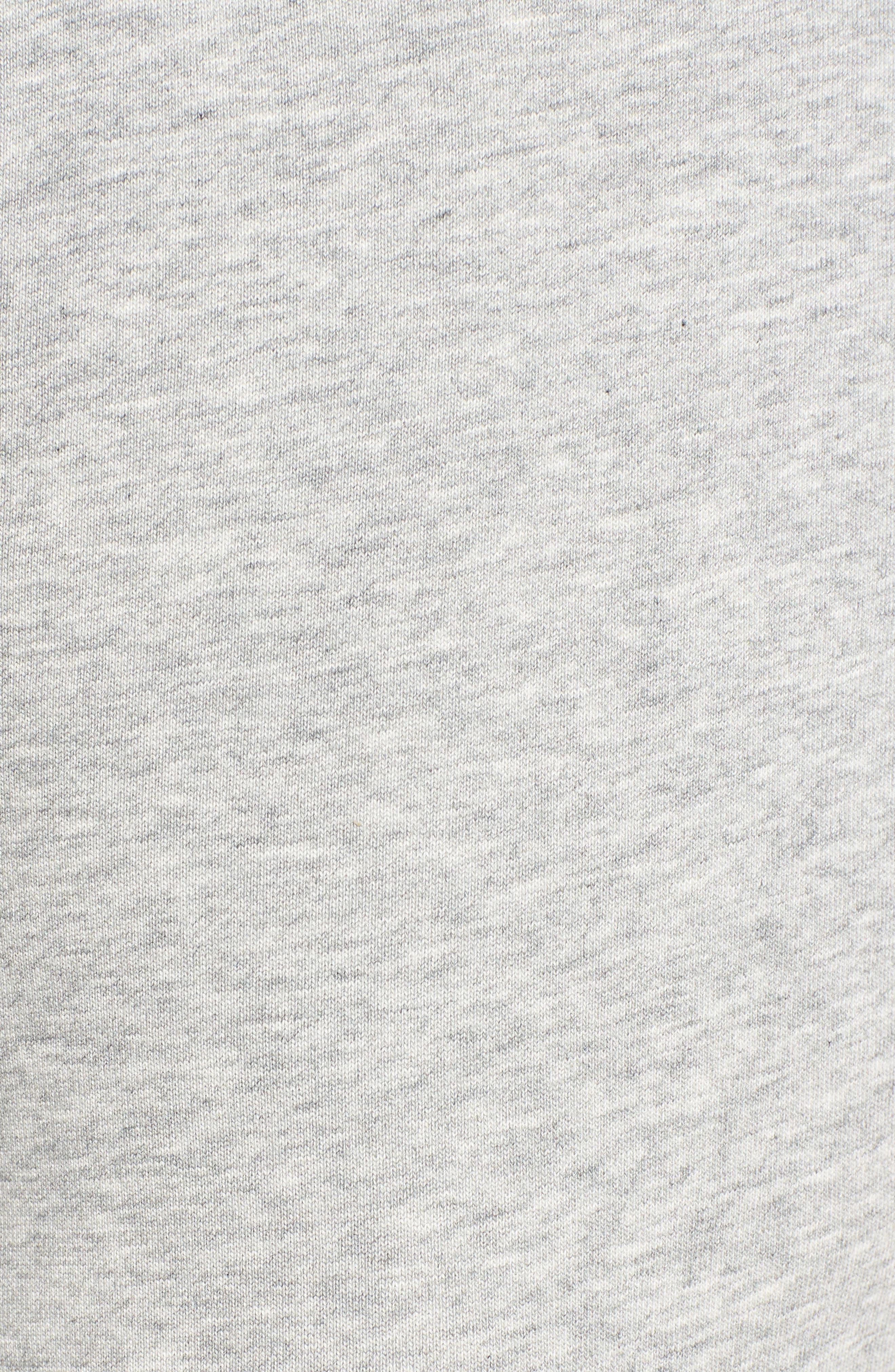 Paneled Sweatpants,                             Alternate thumbnail 5, color,                             Black/ Med. Heather Grey