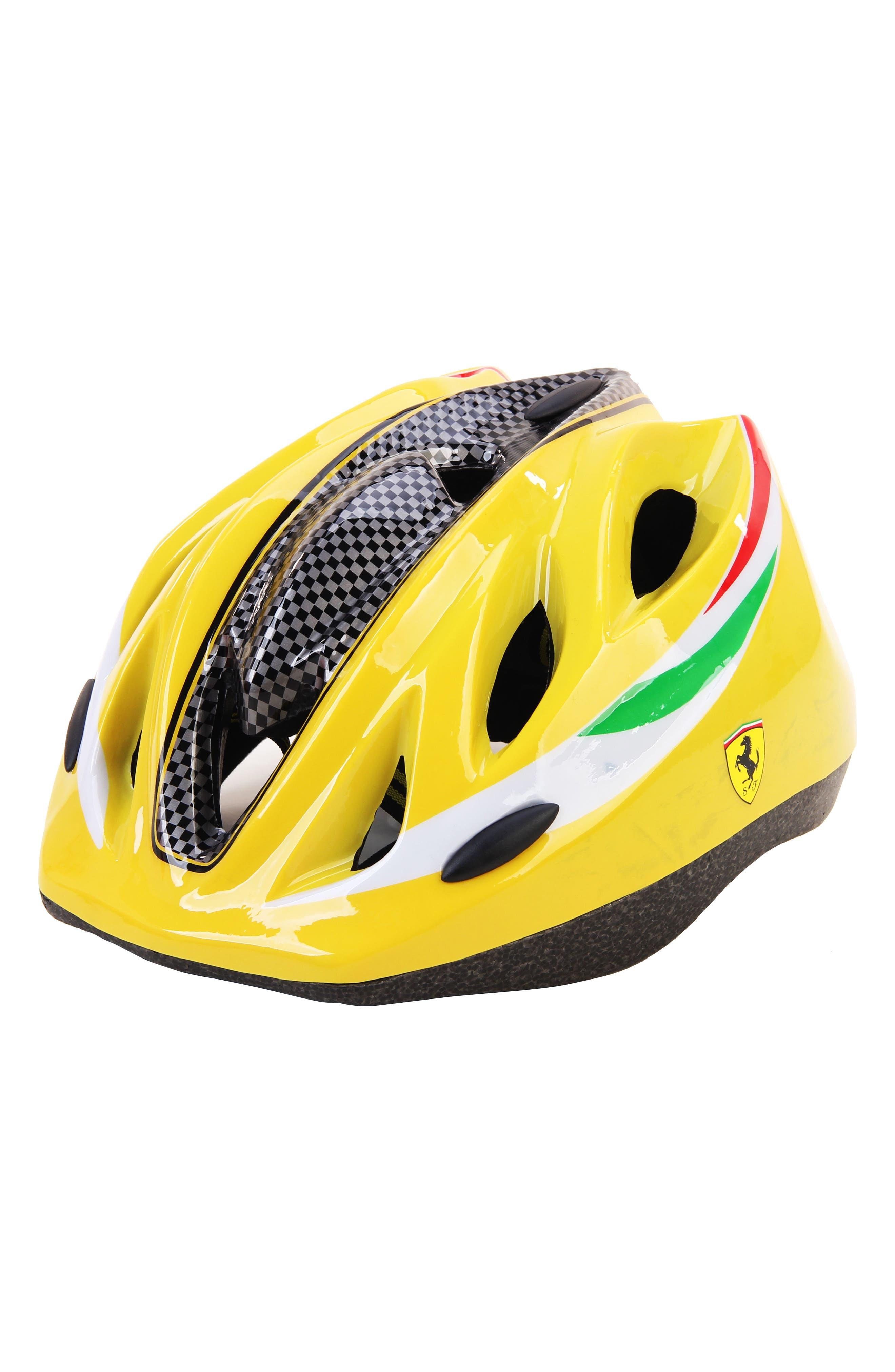 Kid's Helmet,                         Main,                         color, Yellow