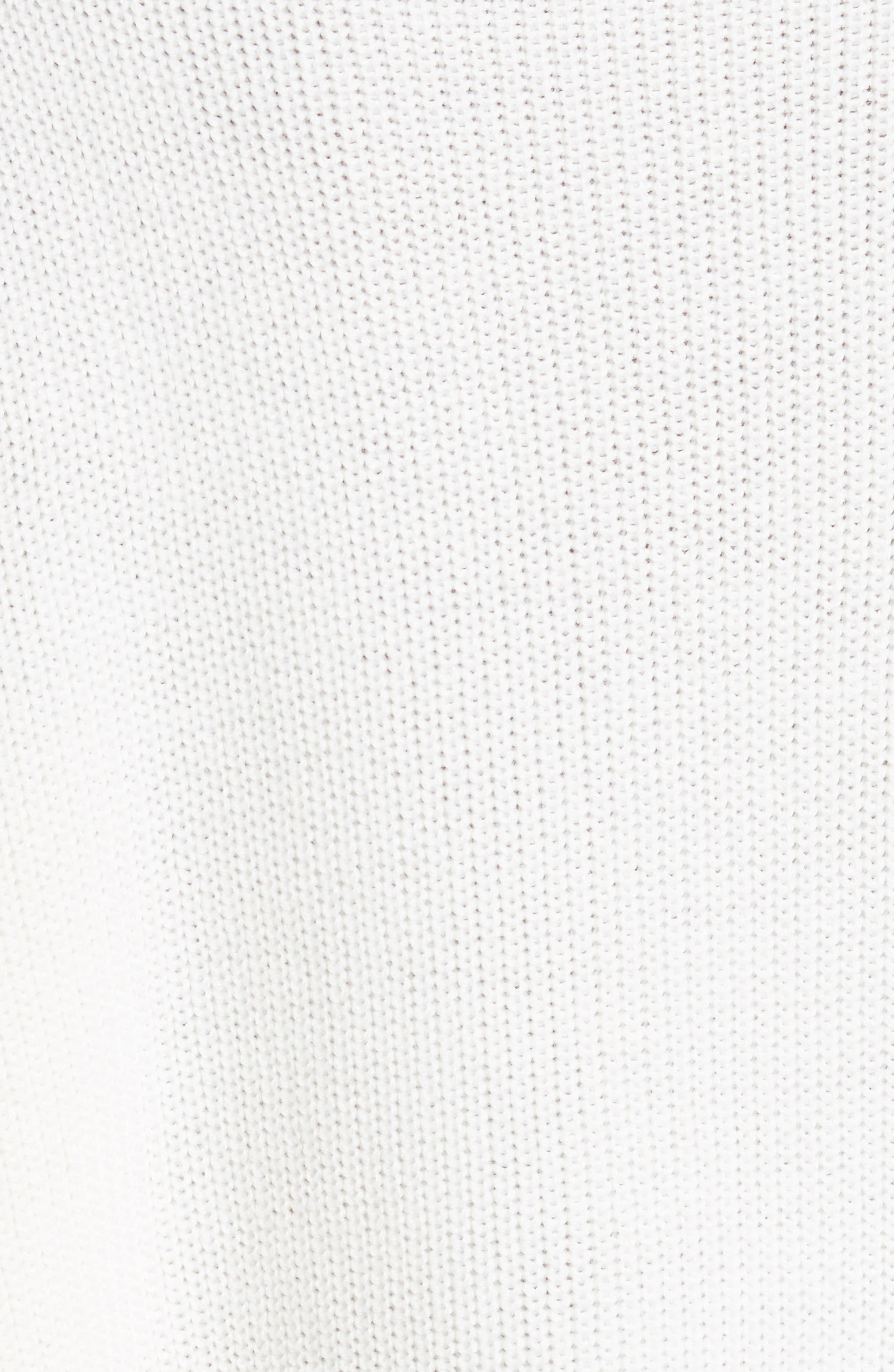 Alternate Image 5  - FRAME Ruffle Dolman Sweater