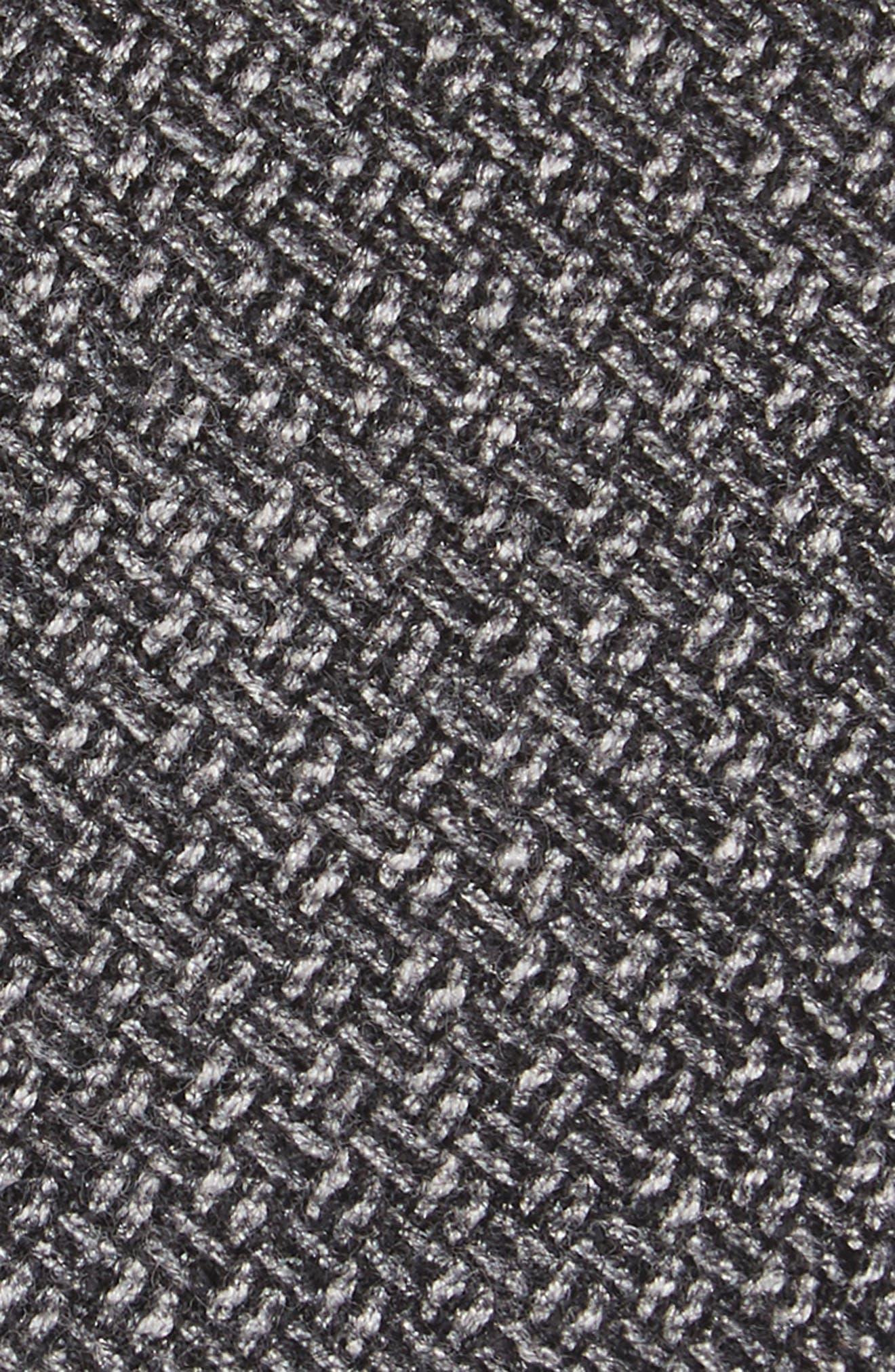 Blackboard Wool Skinny Tie,                             Alternate thumbnail 2, color,                             Grey