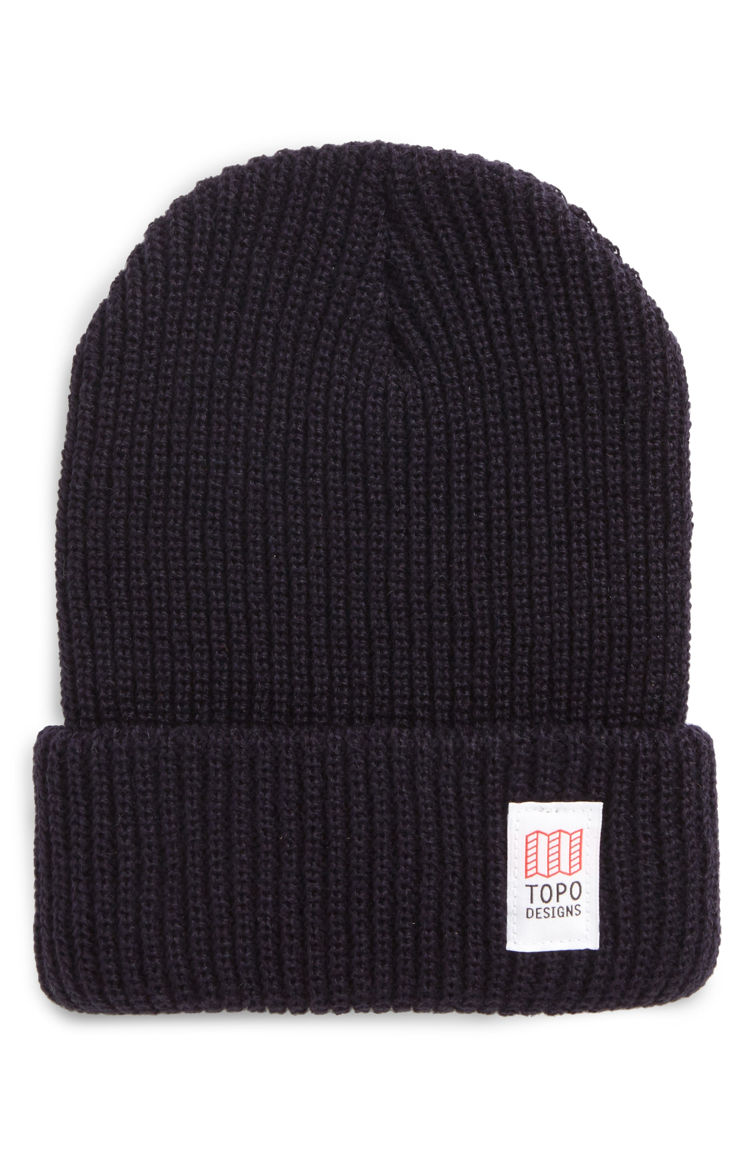 Topo Designers Heavyweight Knit Cap