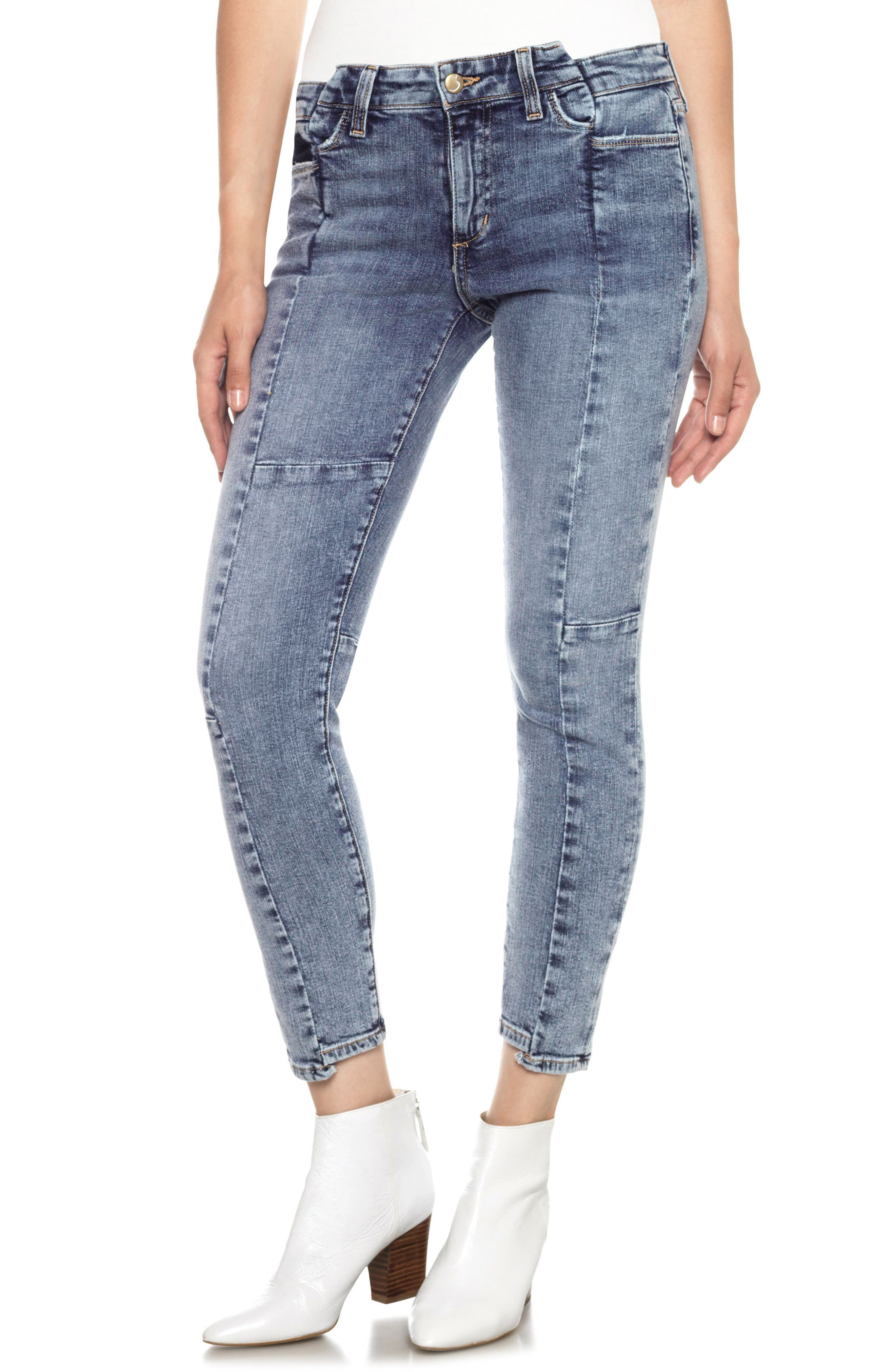 Smith Skinny Ankle Jeans,                         Main,                         color, Amberley
