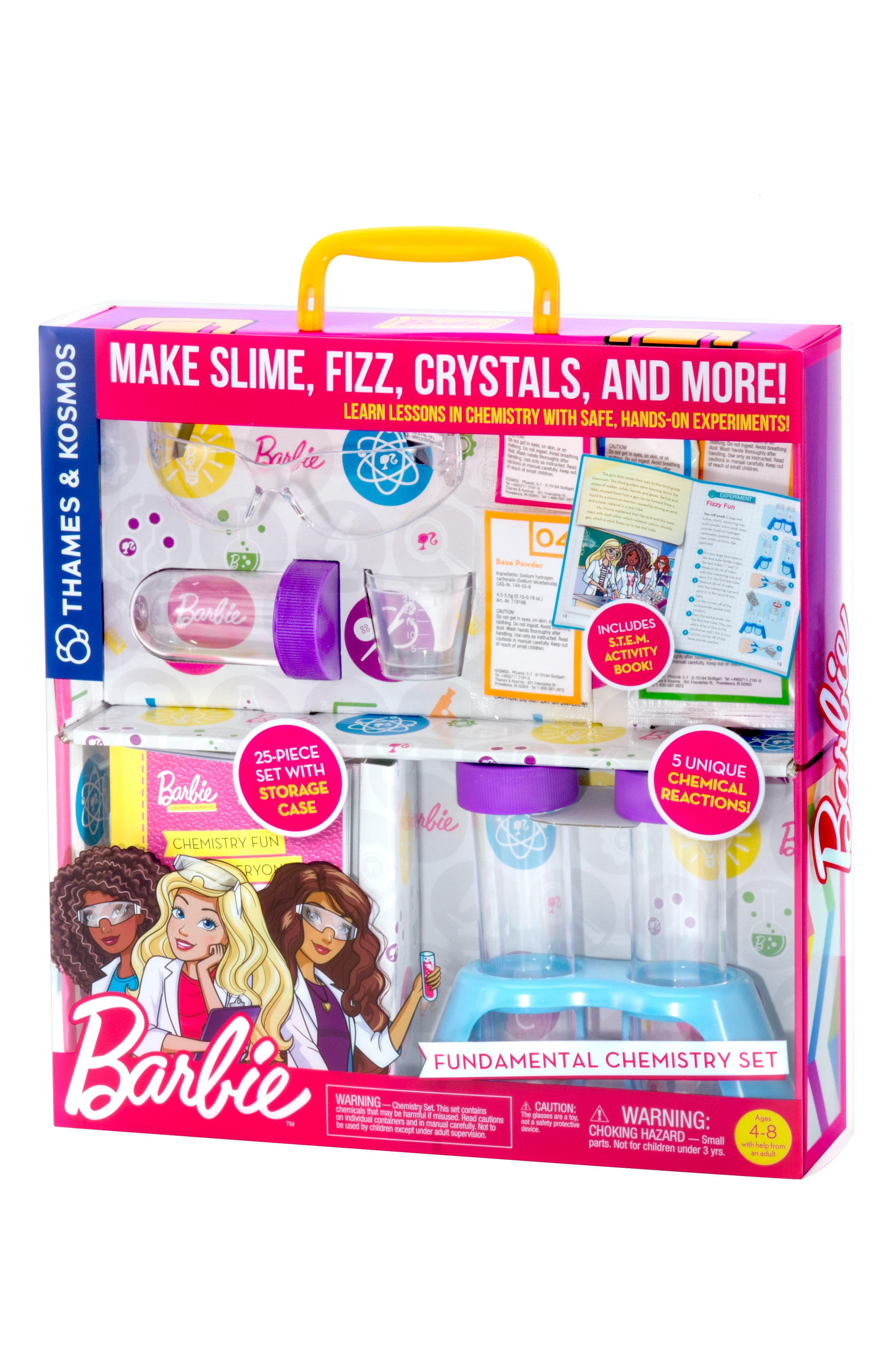Thames & Kosmos Barbie™ Fundamental Chemistry Set