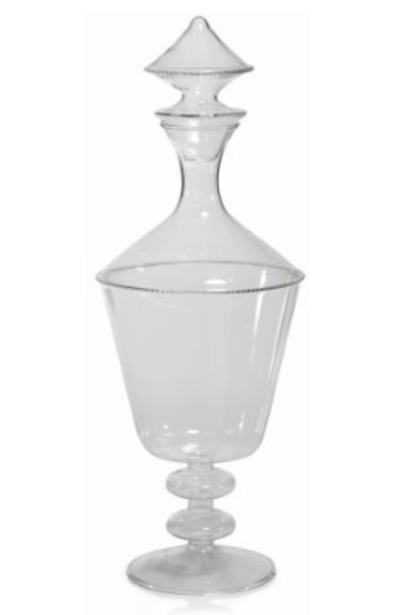 Margaux Decanter,                             Main thumbnail 1, color,                             Clear