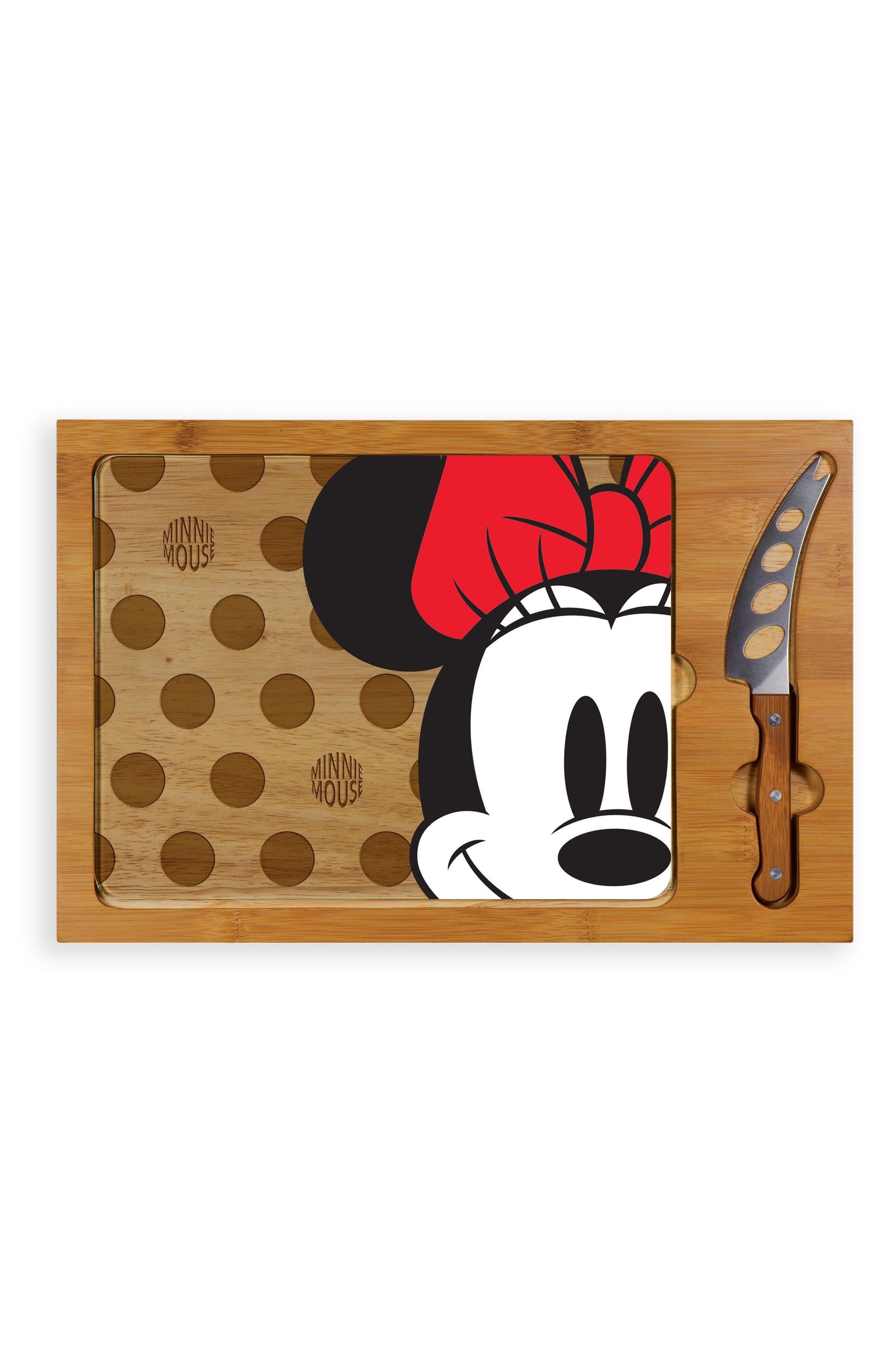 Icon - Disney 3-Piece Cheese Board Set,                         Main,                         color, Minnie