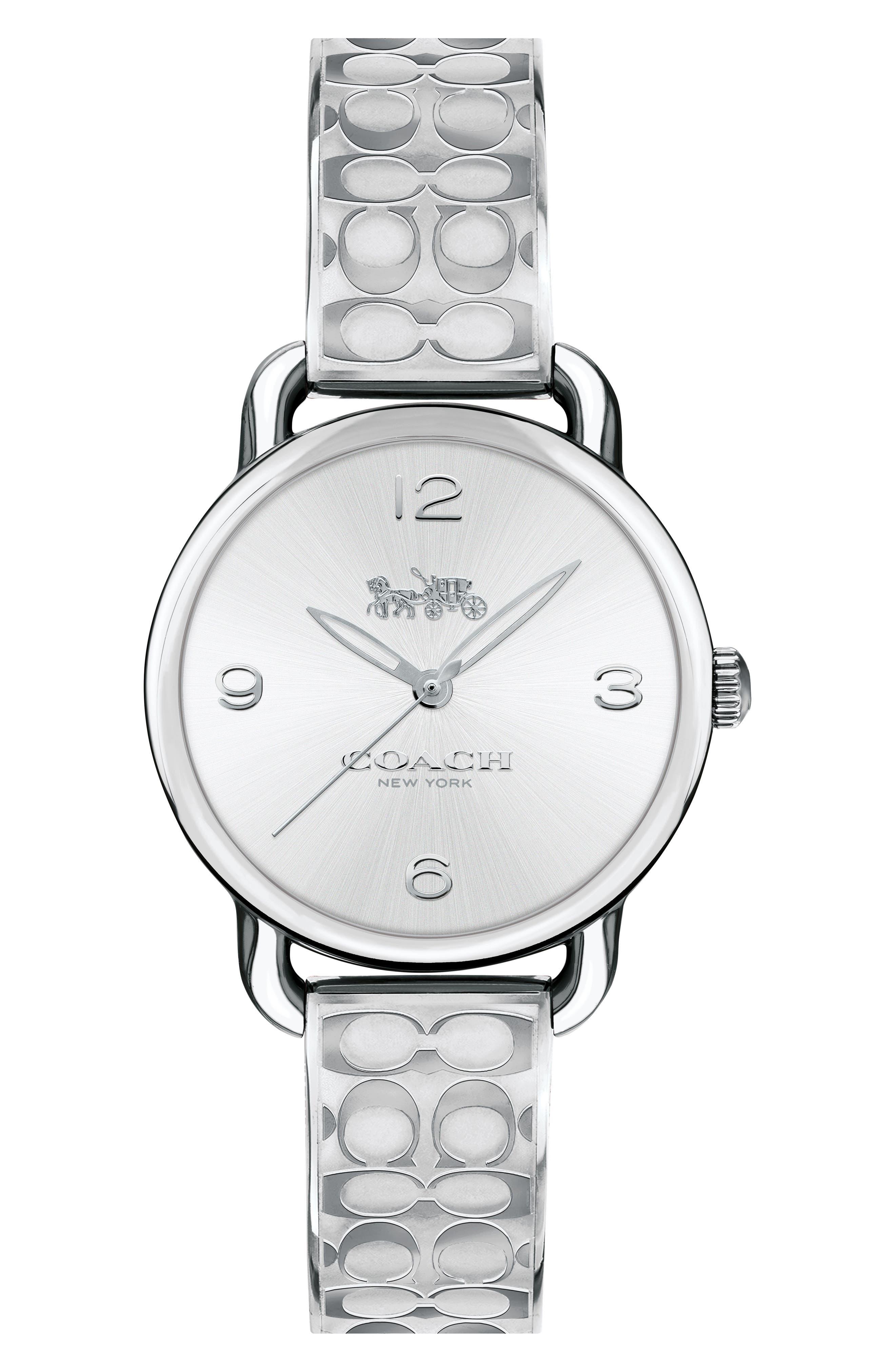 Delancey Bracelet Watch, 28mm,                             Main thumbnail 1, color,                             Silver