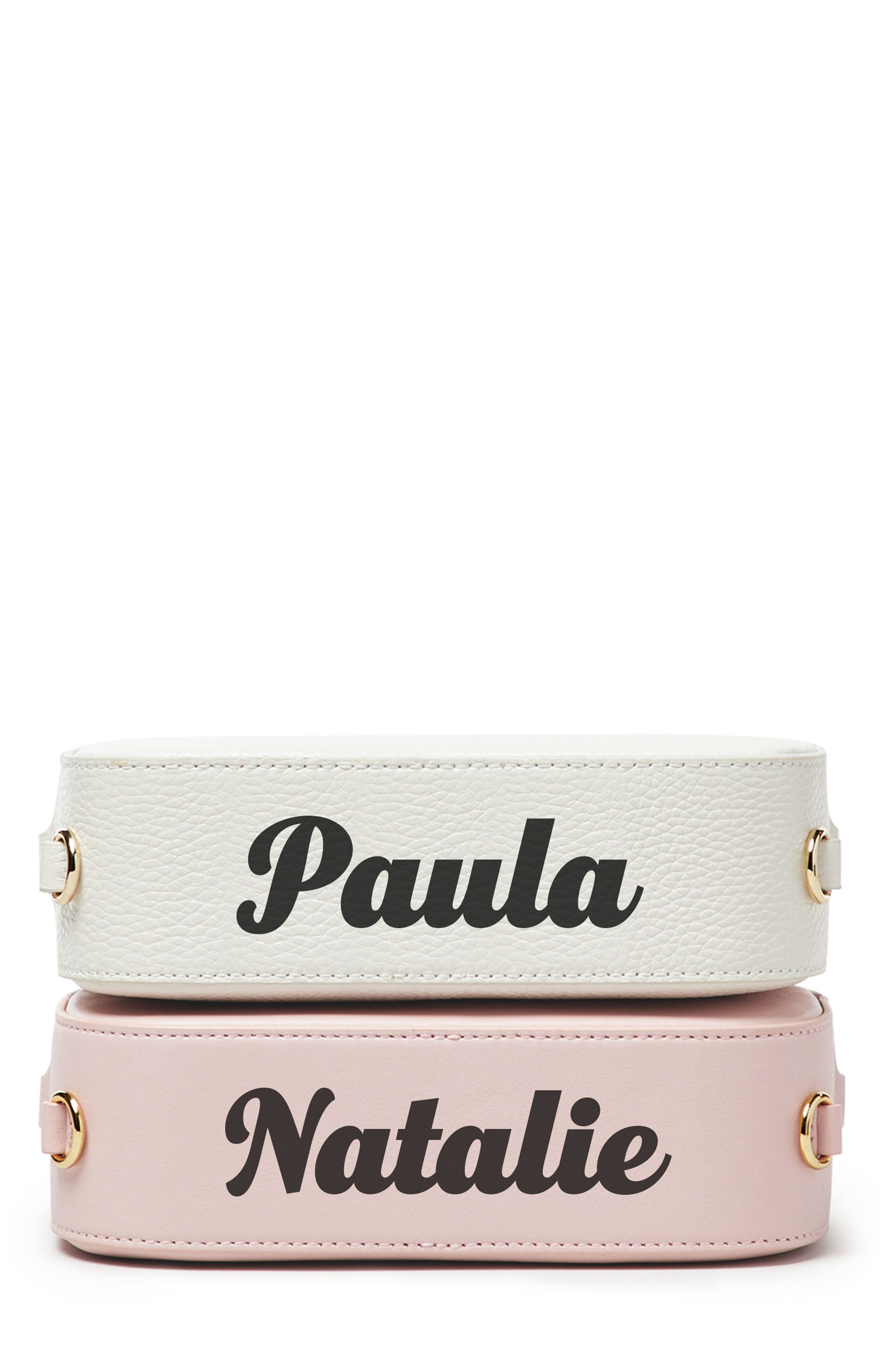 Alternate Image 1 Selected - Pop & Suki Bigger Personalized Camera Bag (Nordstrom Exclusive)