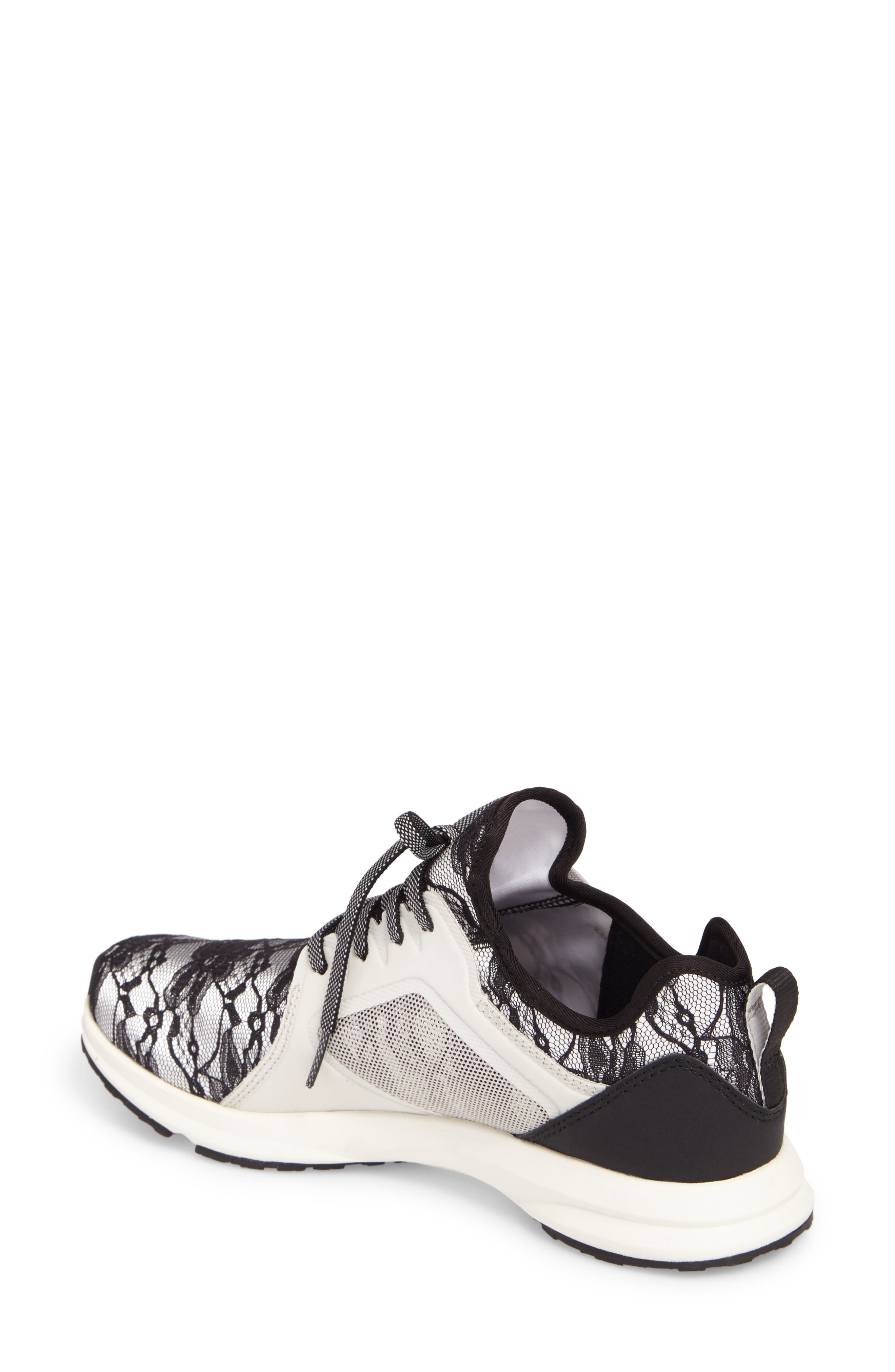 Fuse Print Sneaker,                             Alternate thumbnail 2, color,                             Black Lace