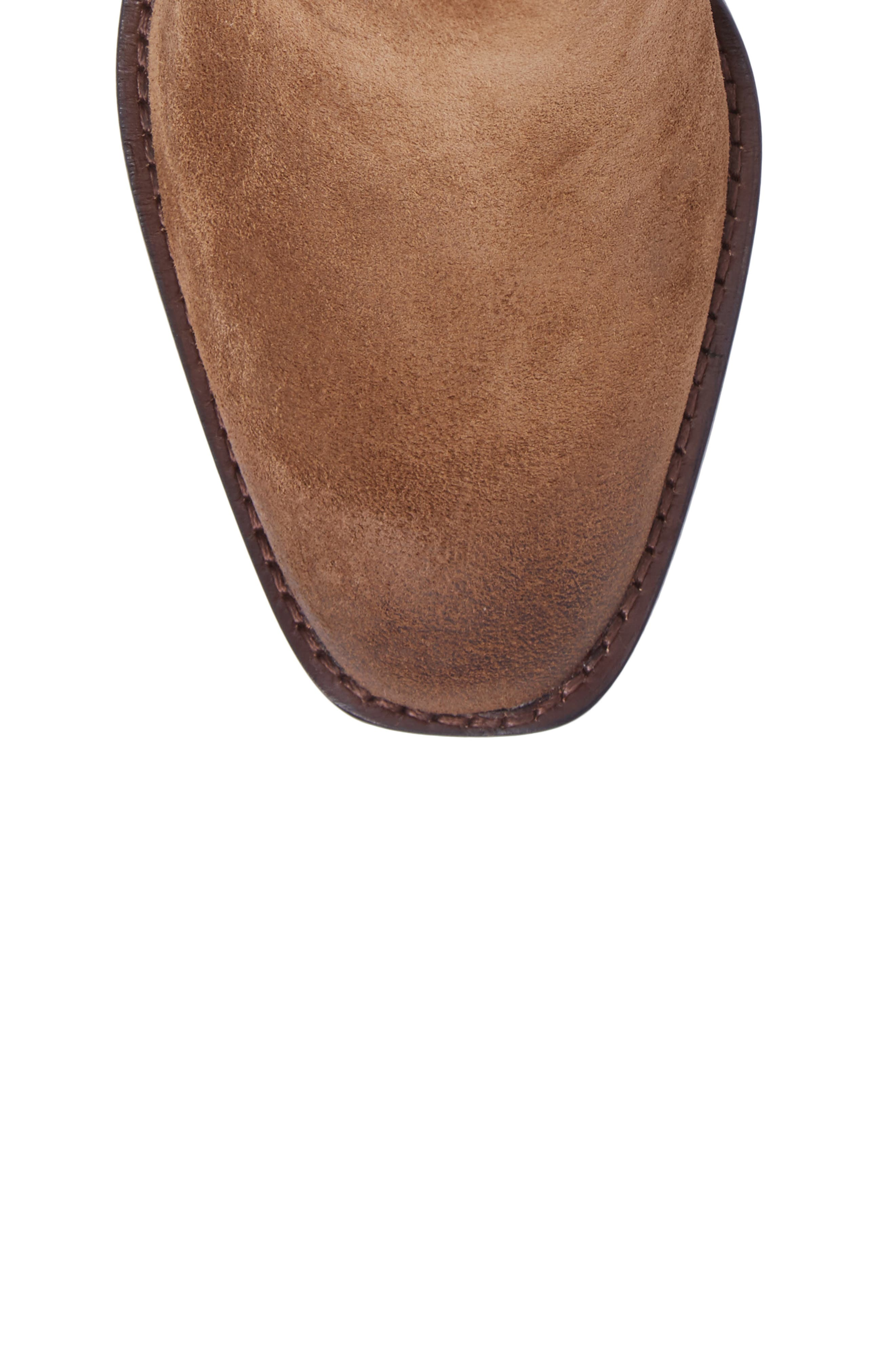 Pia Boot,                             Alternate thumbnail 5, color,                             Chestnut Suede