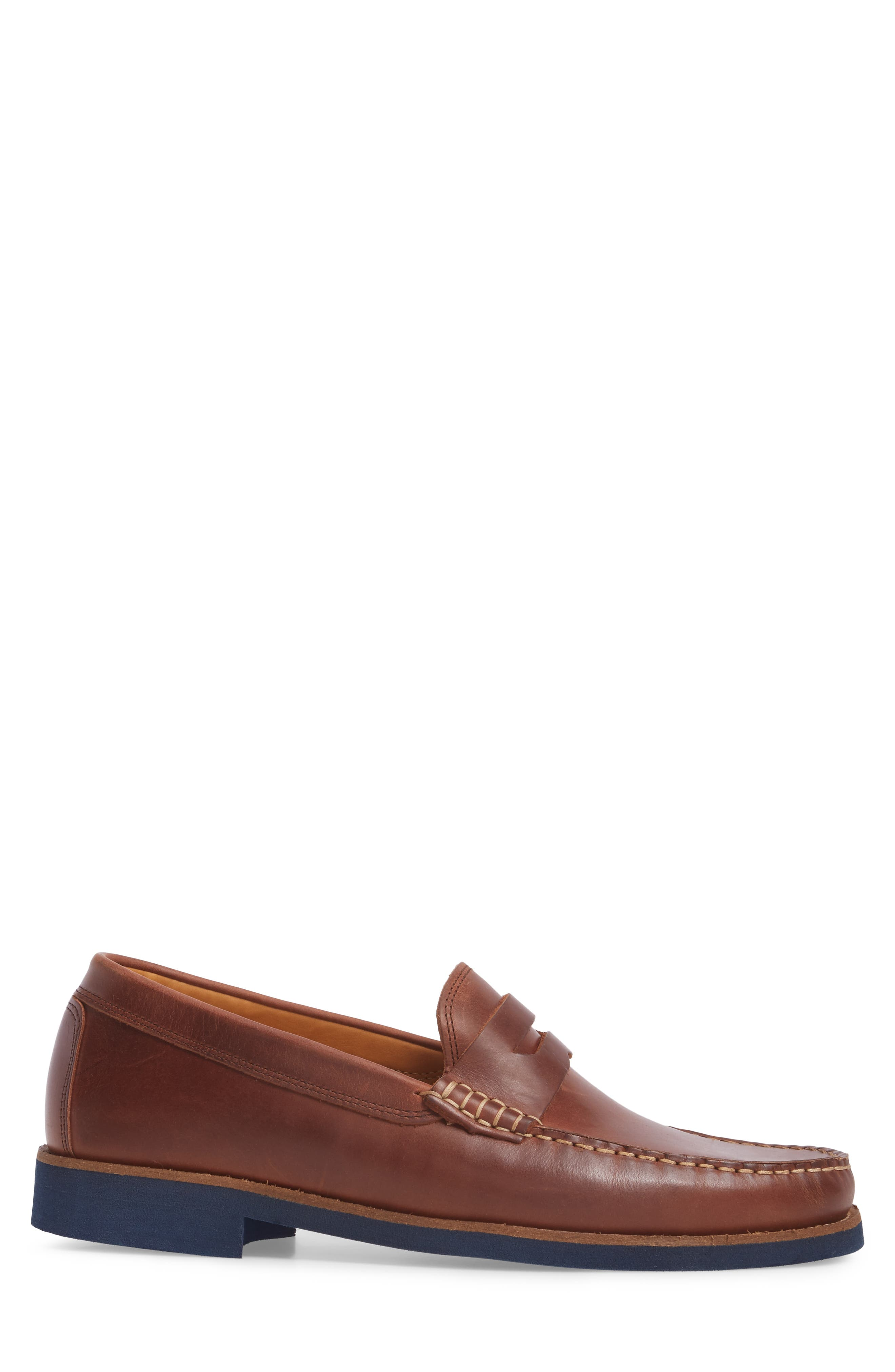 Lincolns Penny Loafer,                             Alternate thumbnail 3, color,                             Light Brown