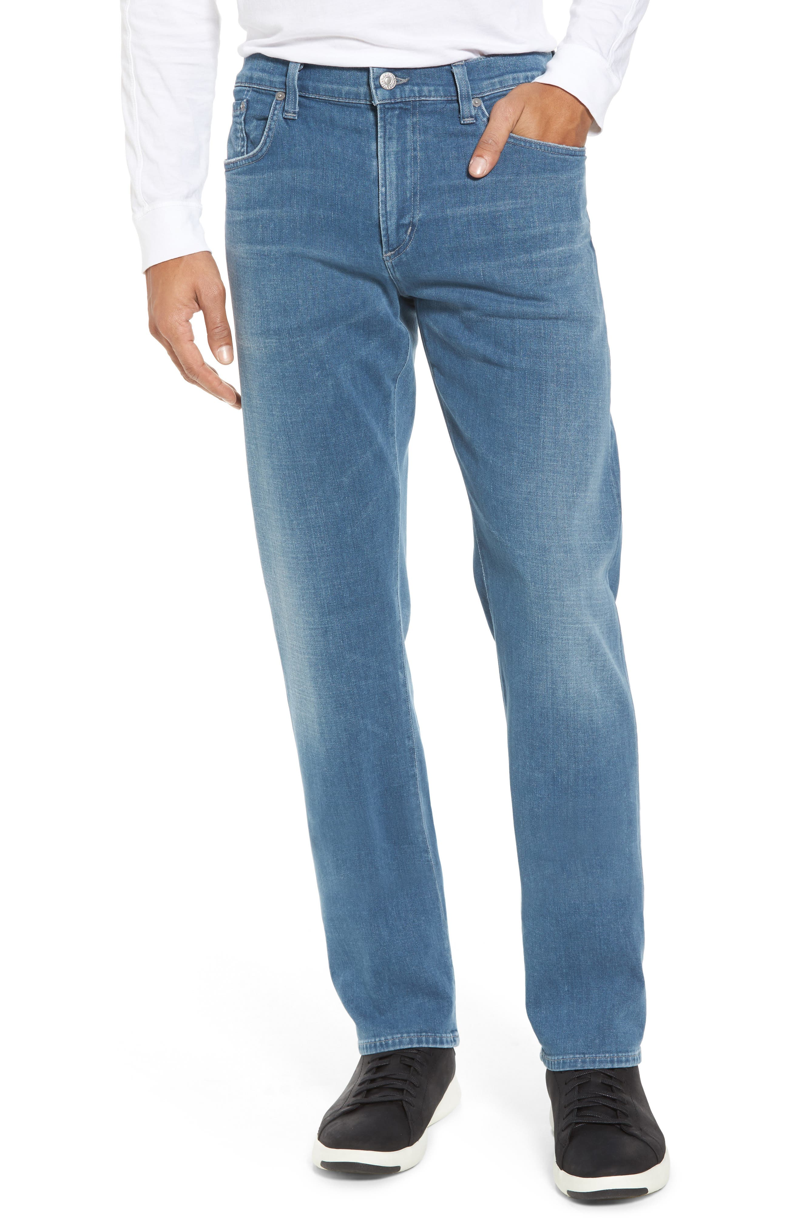 Alternate Image 1 Selected - Citizens of Humanity Core Slim Fit Jeans (Silverstone)