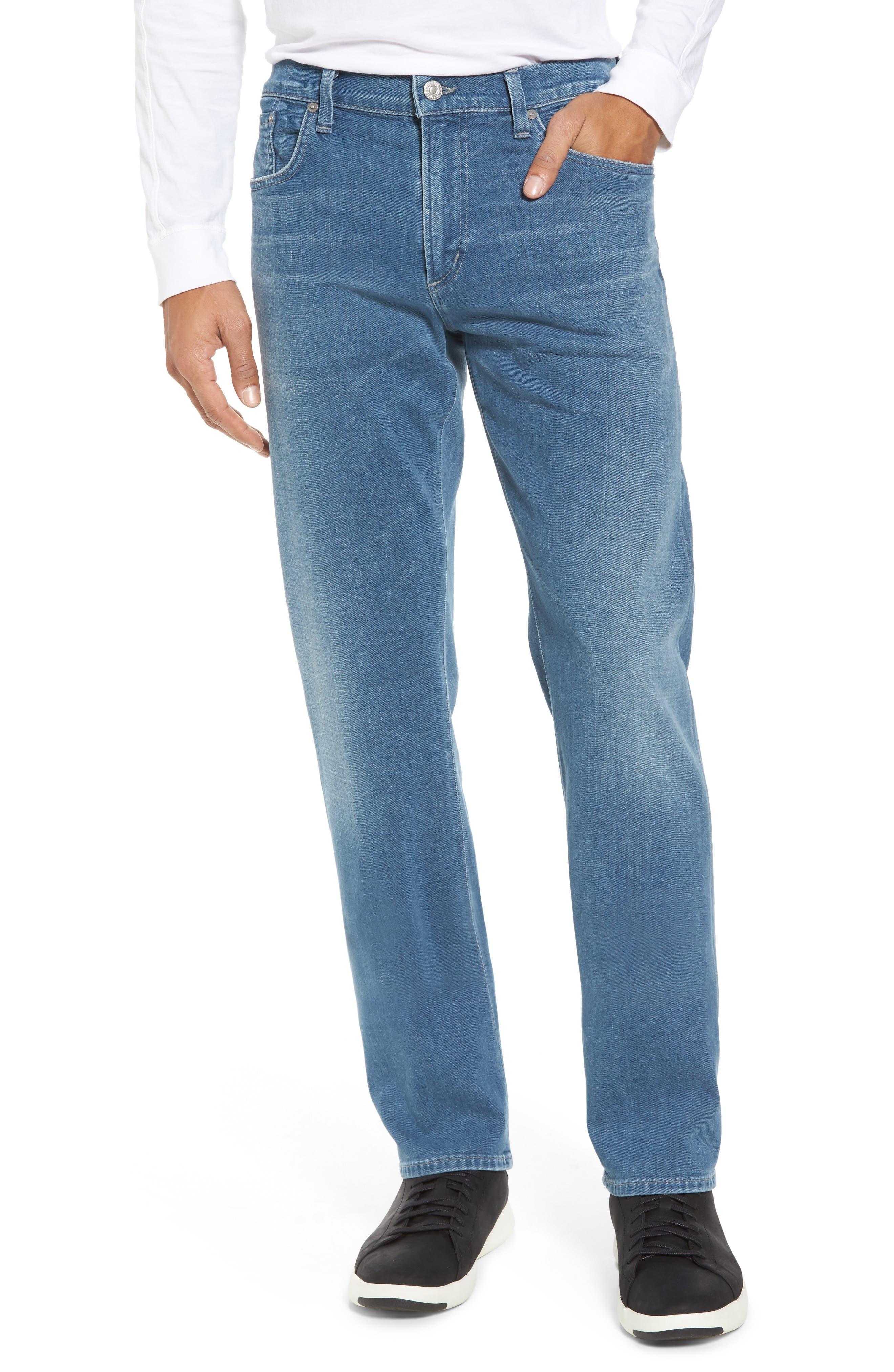 Core Slim Fit Jeans,                         Main,                         color, Silverstone