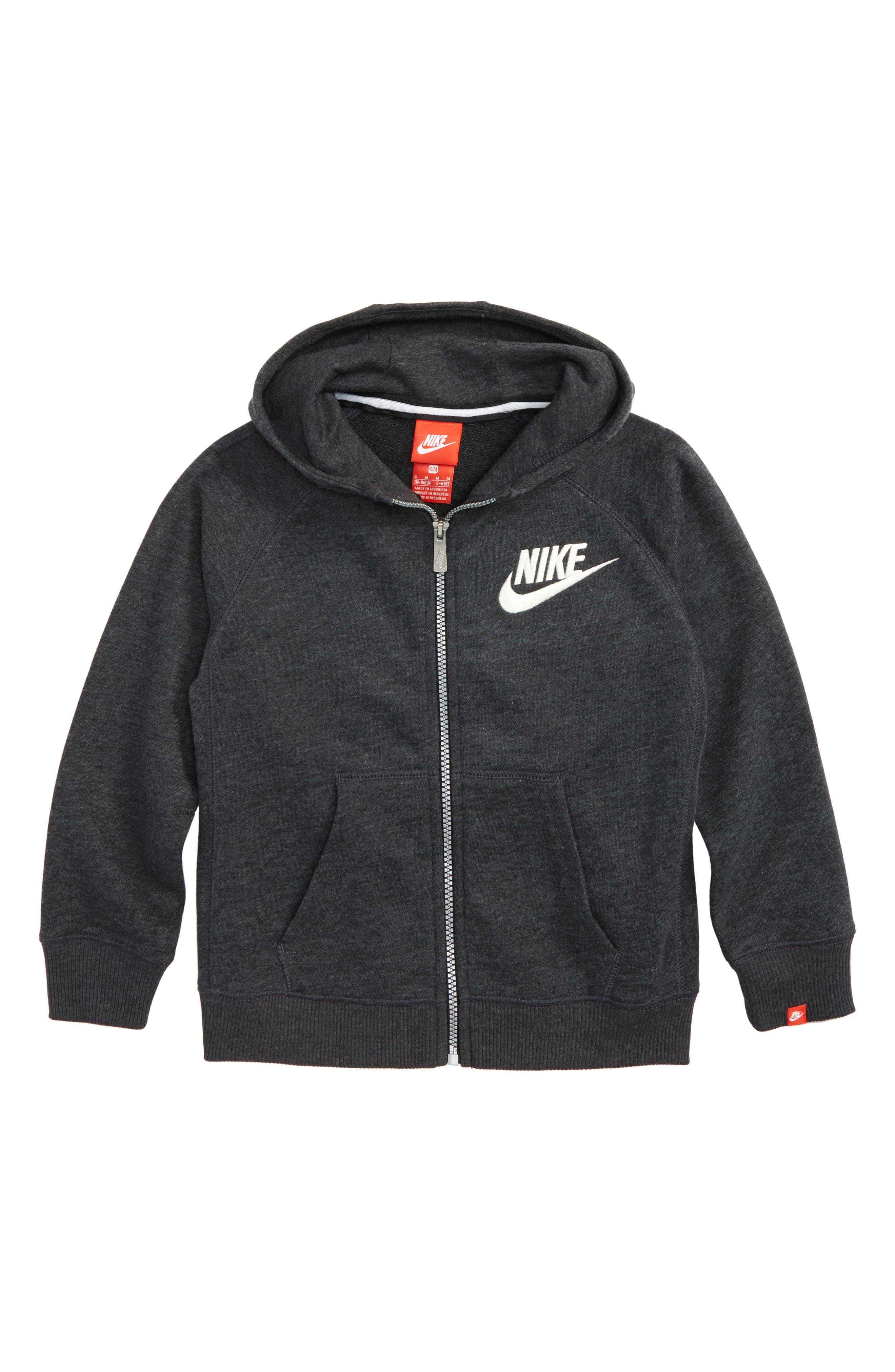 Alternate Image 1 Selected - Nike Legacy Full Zip Hoodie (Toddler Boys & Little Boys)