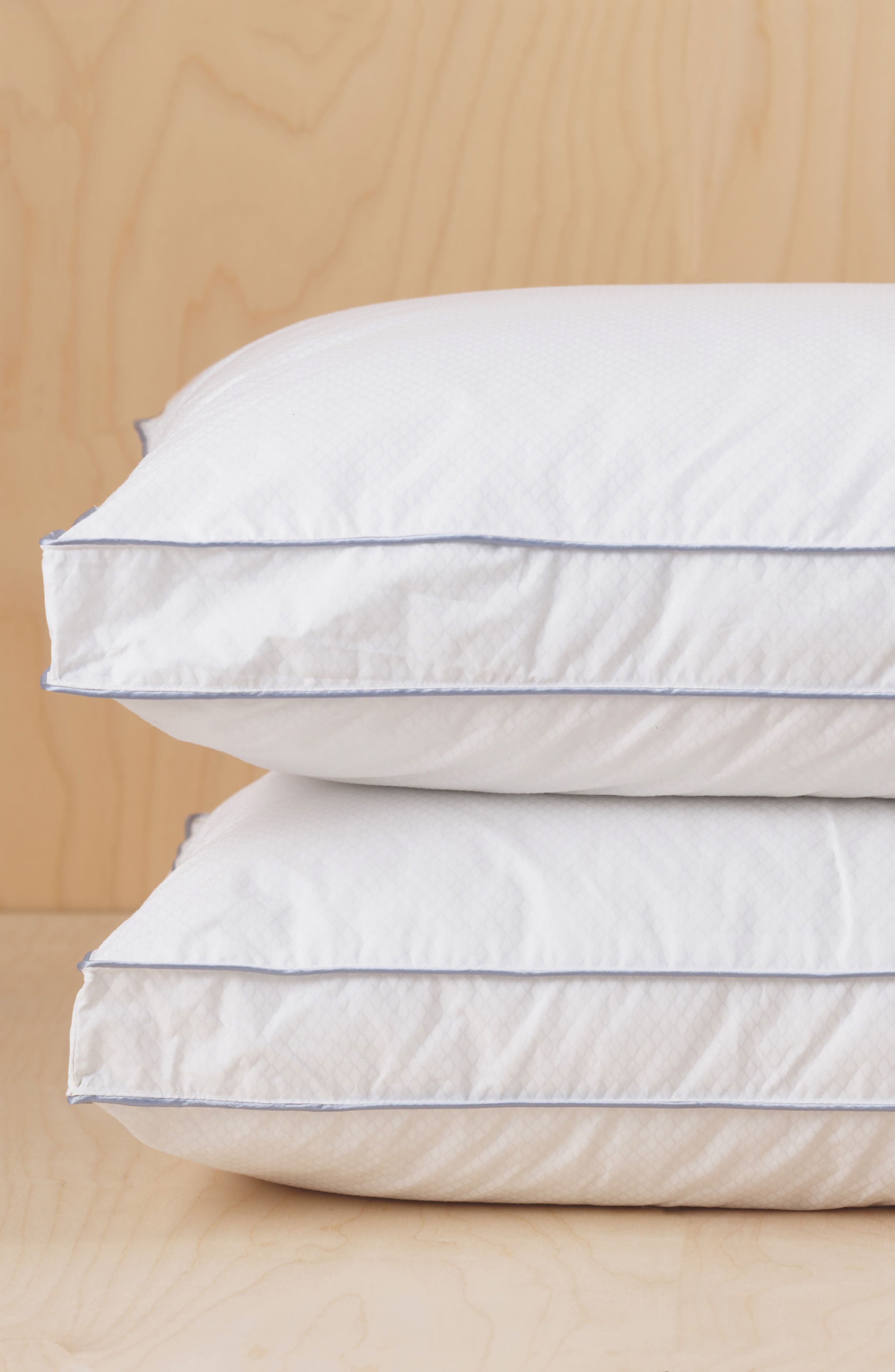 Gusseted Pillow,                             Alternate thumbnail 4, color,                             White