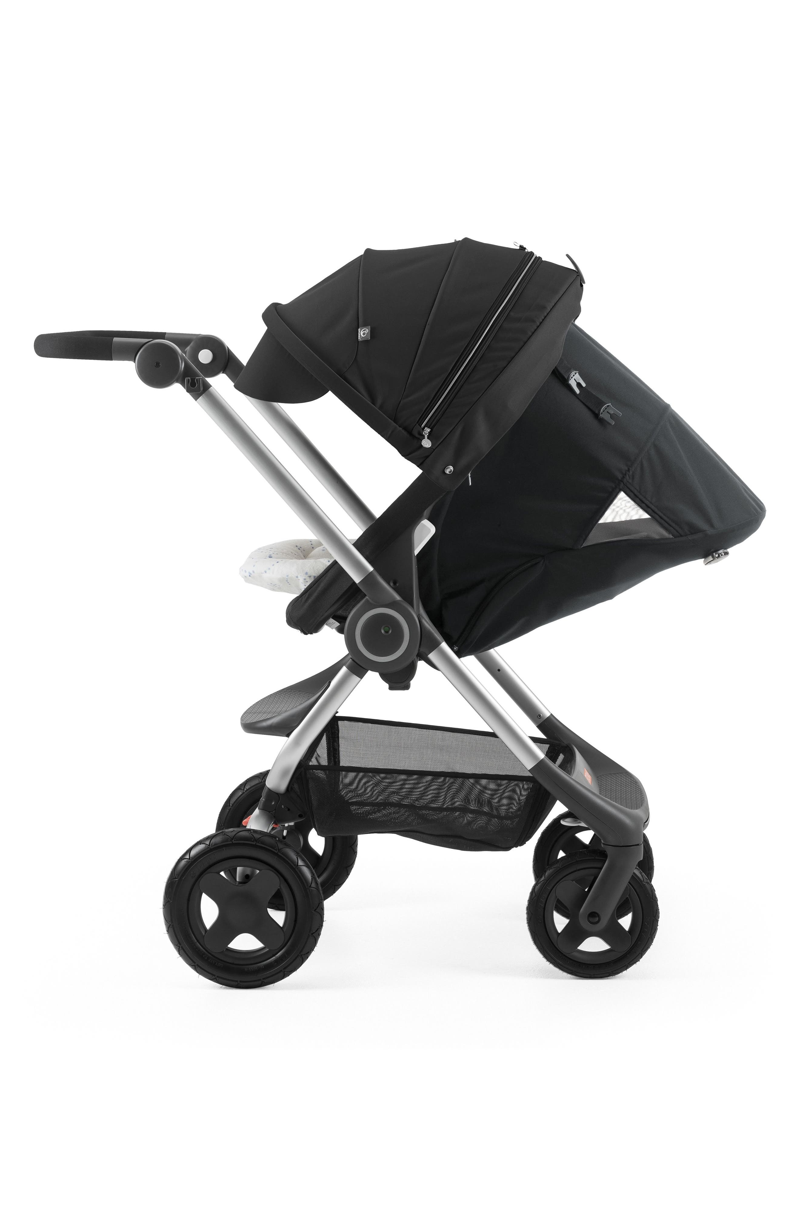 Scoot<sup>™</sup> Complete Stroller,                             Alternate thumbnail 4, color,                             Black